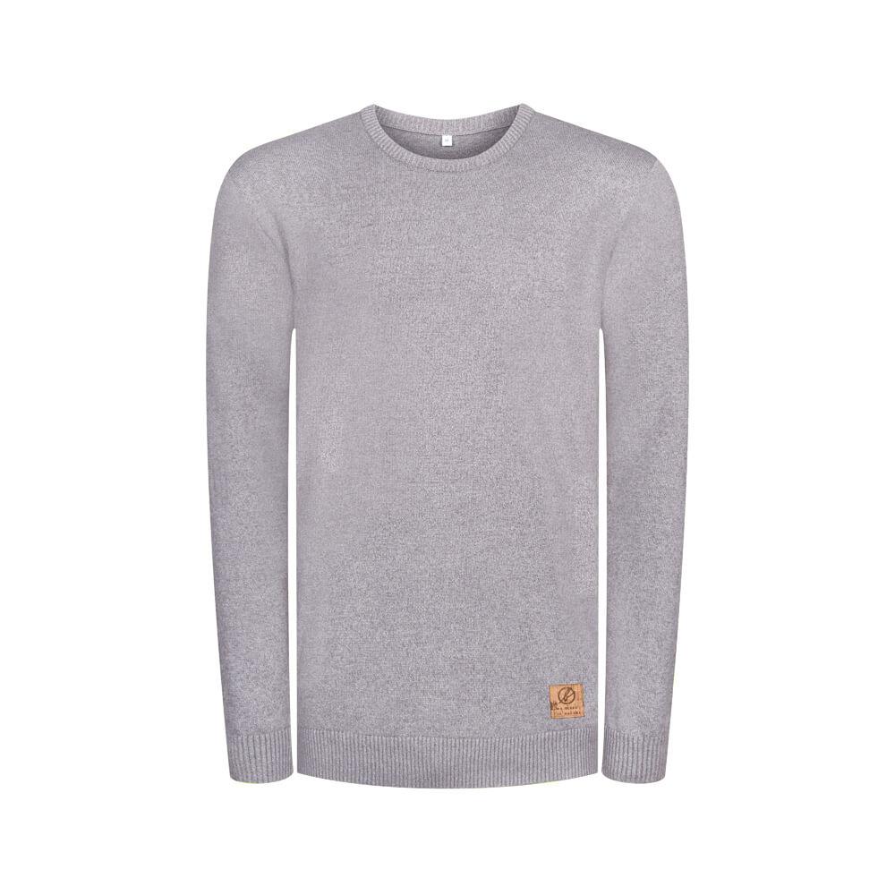 knitted jumper, grau, herren - bleed