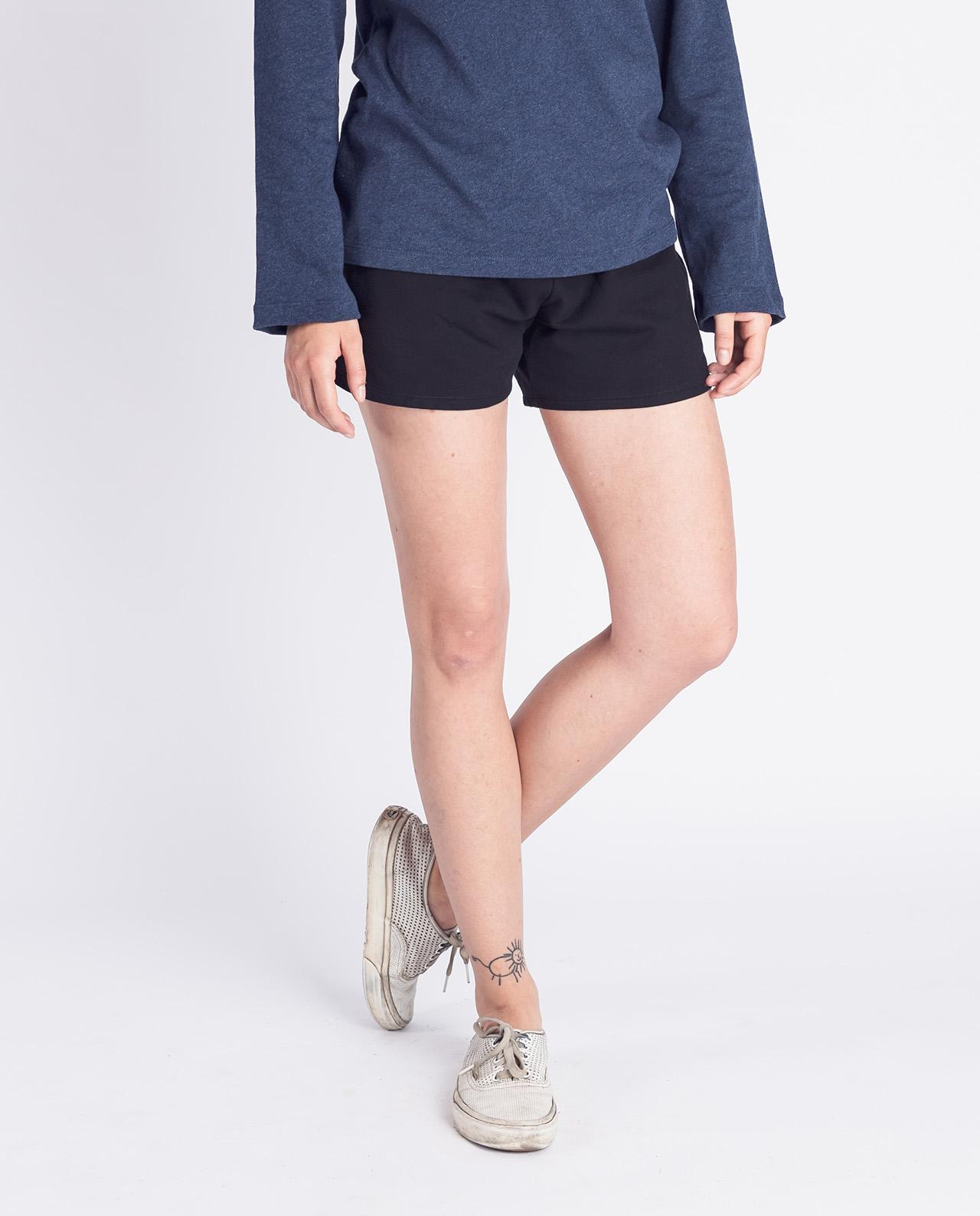 pants shorter, schwarz, damen - degree