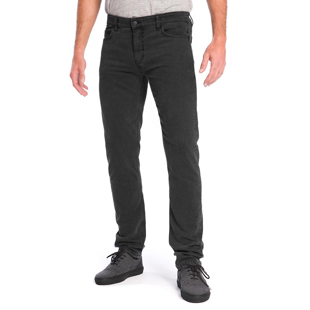 active jeans tencel, black washed, herren - bleed