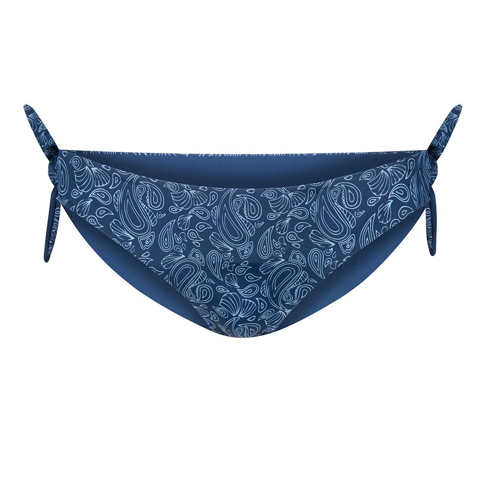 bikini wendehose econyl blau, damen - bleed