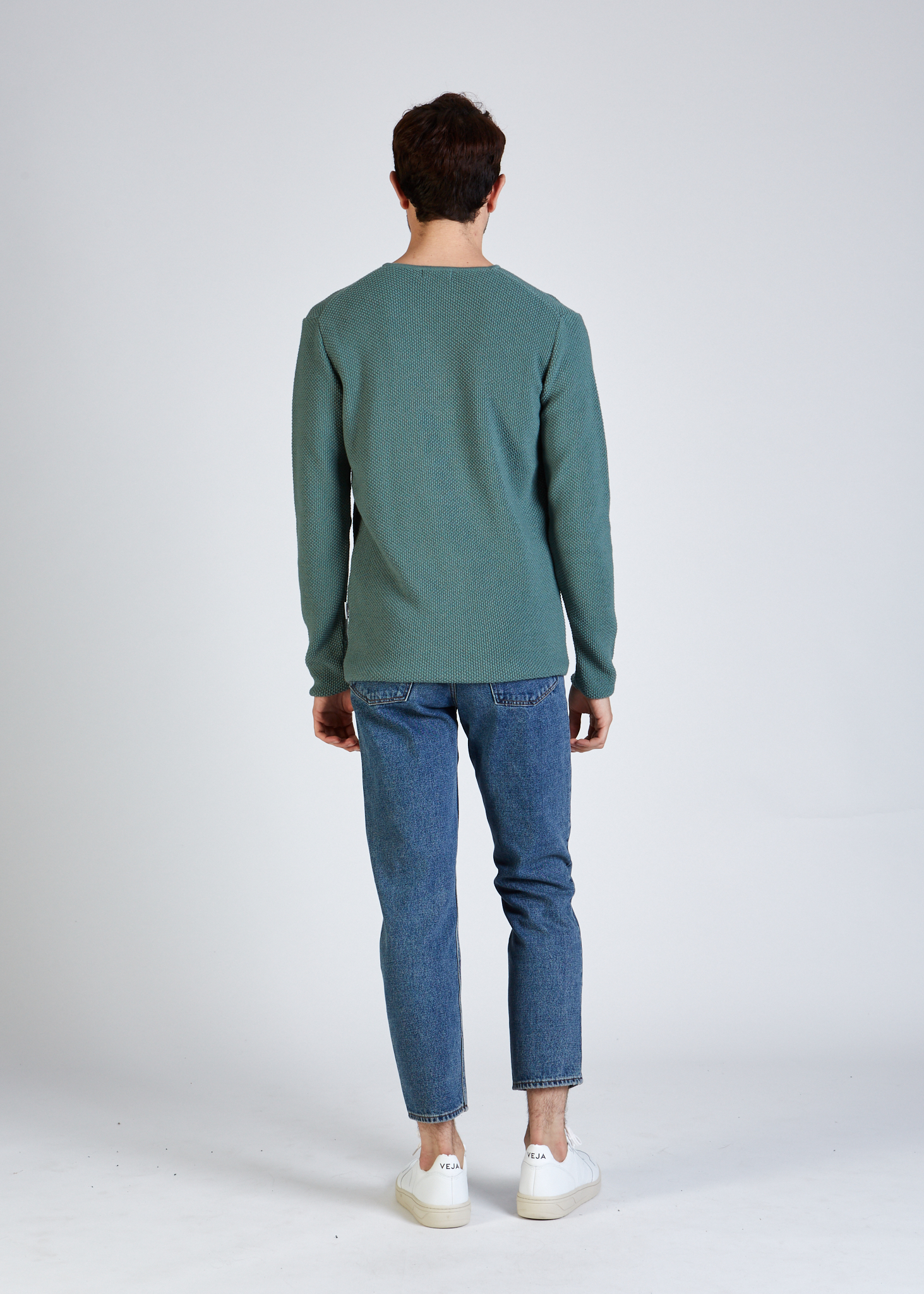 cole sweater, mint, herren - givn