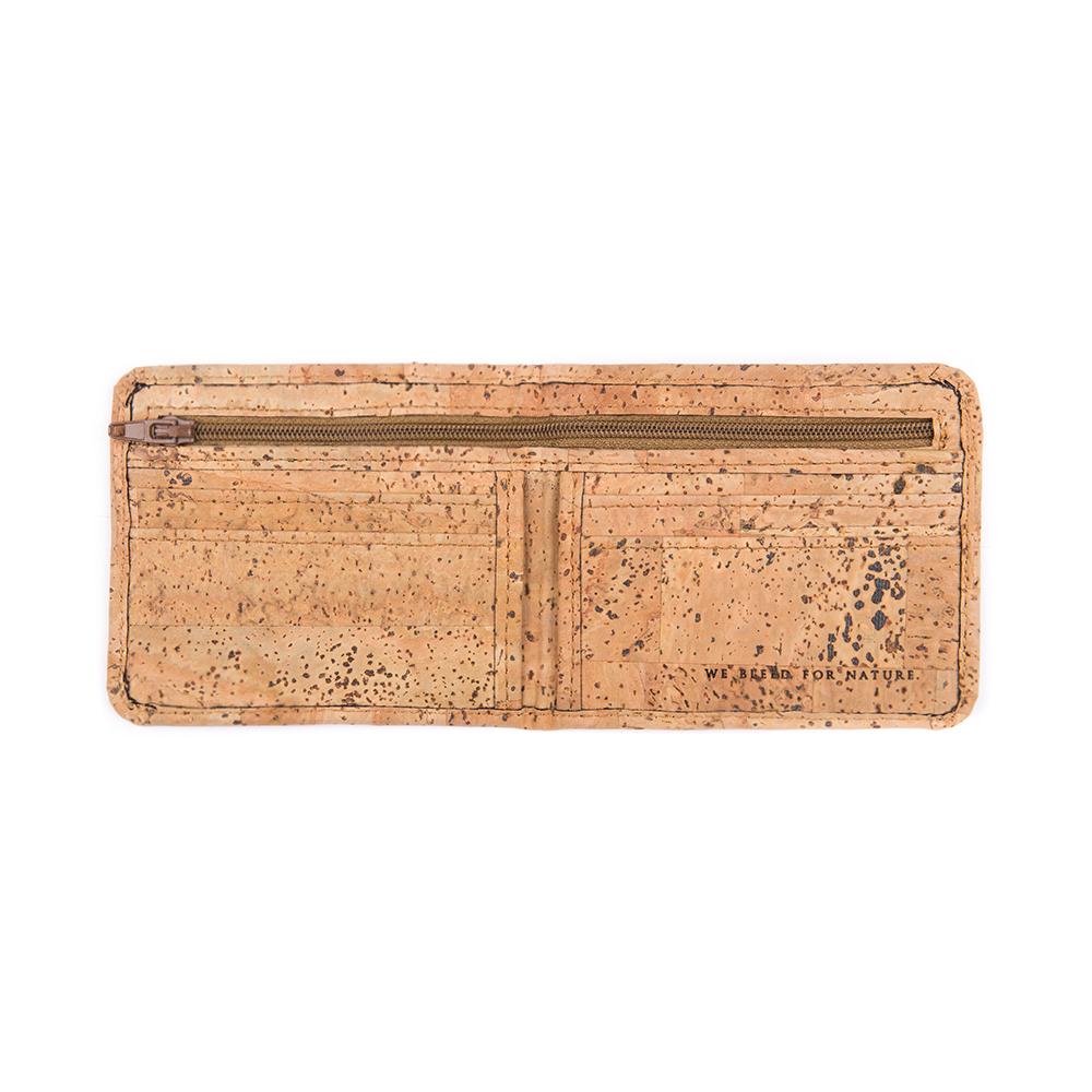 cork geldbeutel mini - bleed