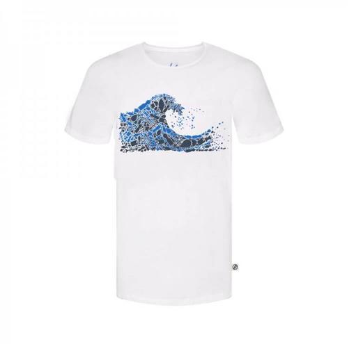 plastic wave shirt, herren - bleed