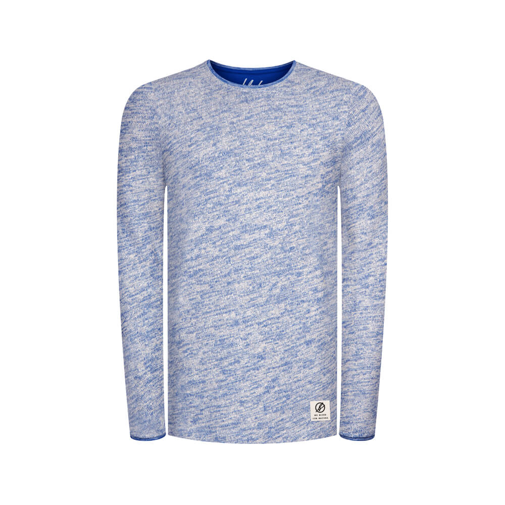 nautical knit sweater, herren - bleed