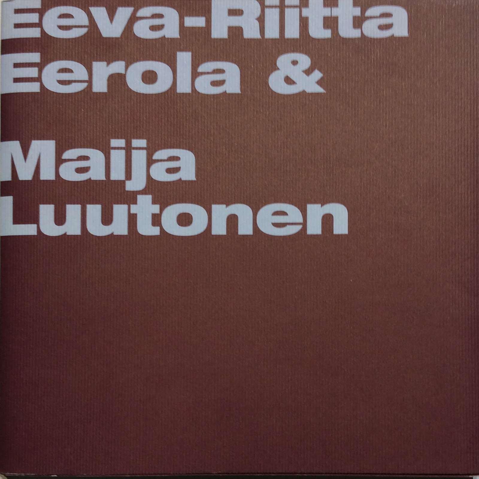 Bjerregaard, Galleri Bo. Eeva-Riita Berola & Marija Wutonen