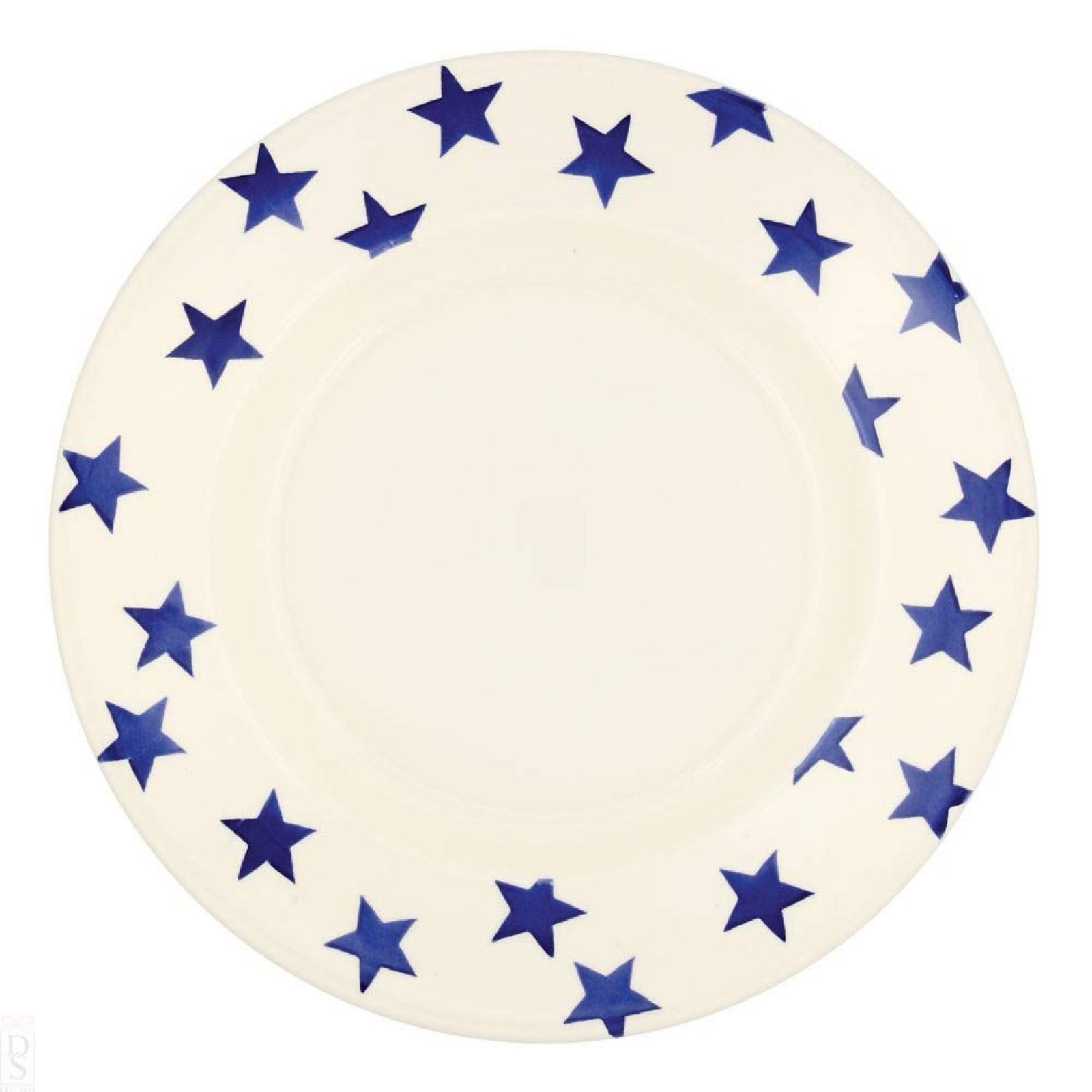 "Emma bridgewater Blue star 10 1/2  ""plate"