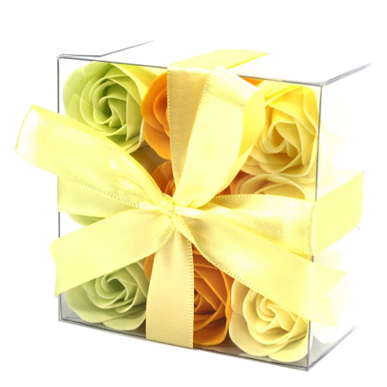 Soap Flower Box - Spring Roses (Was £4.50)