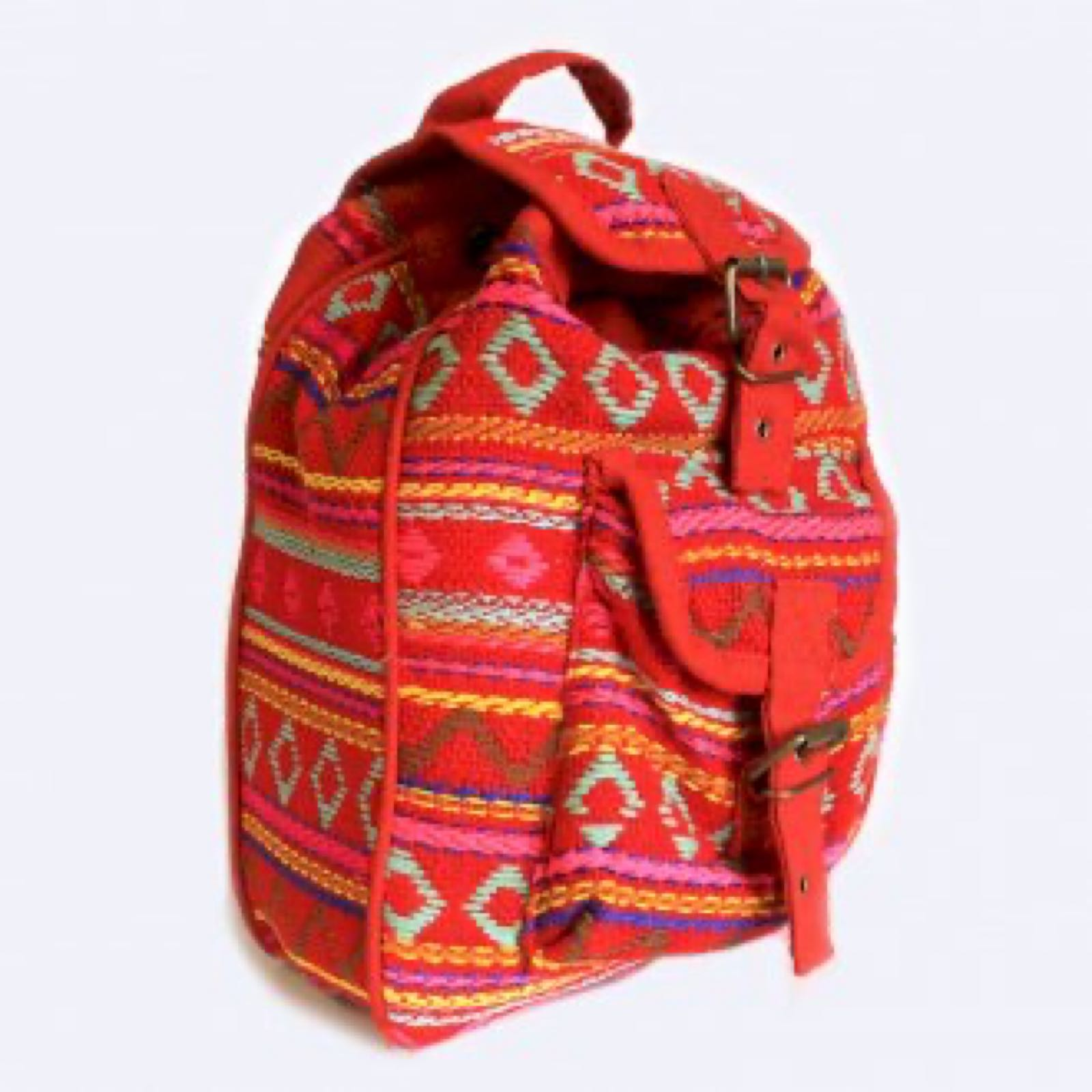 Pink Nepali Backpack