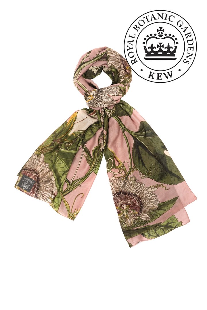 One Hundred Stars scarf KEW passion flower