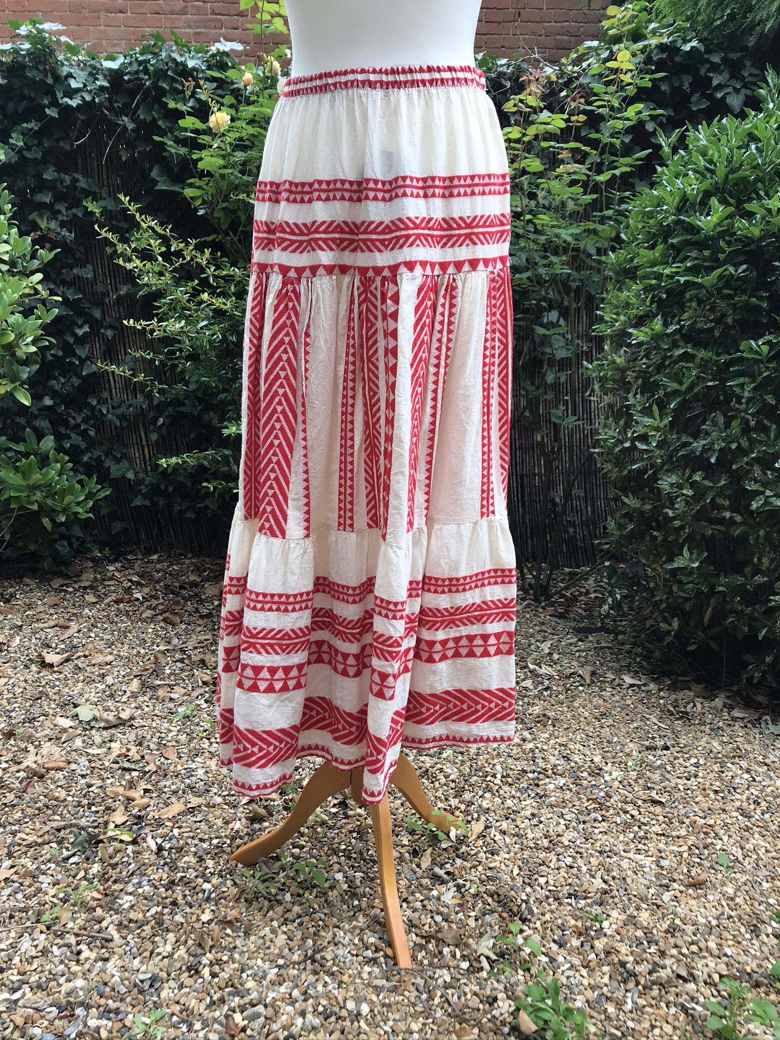 Terminal 1 Aztec Skirt