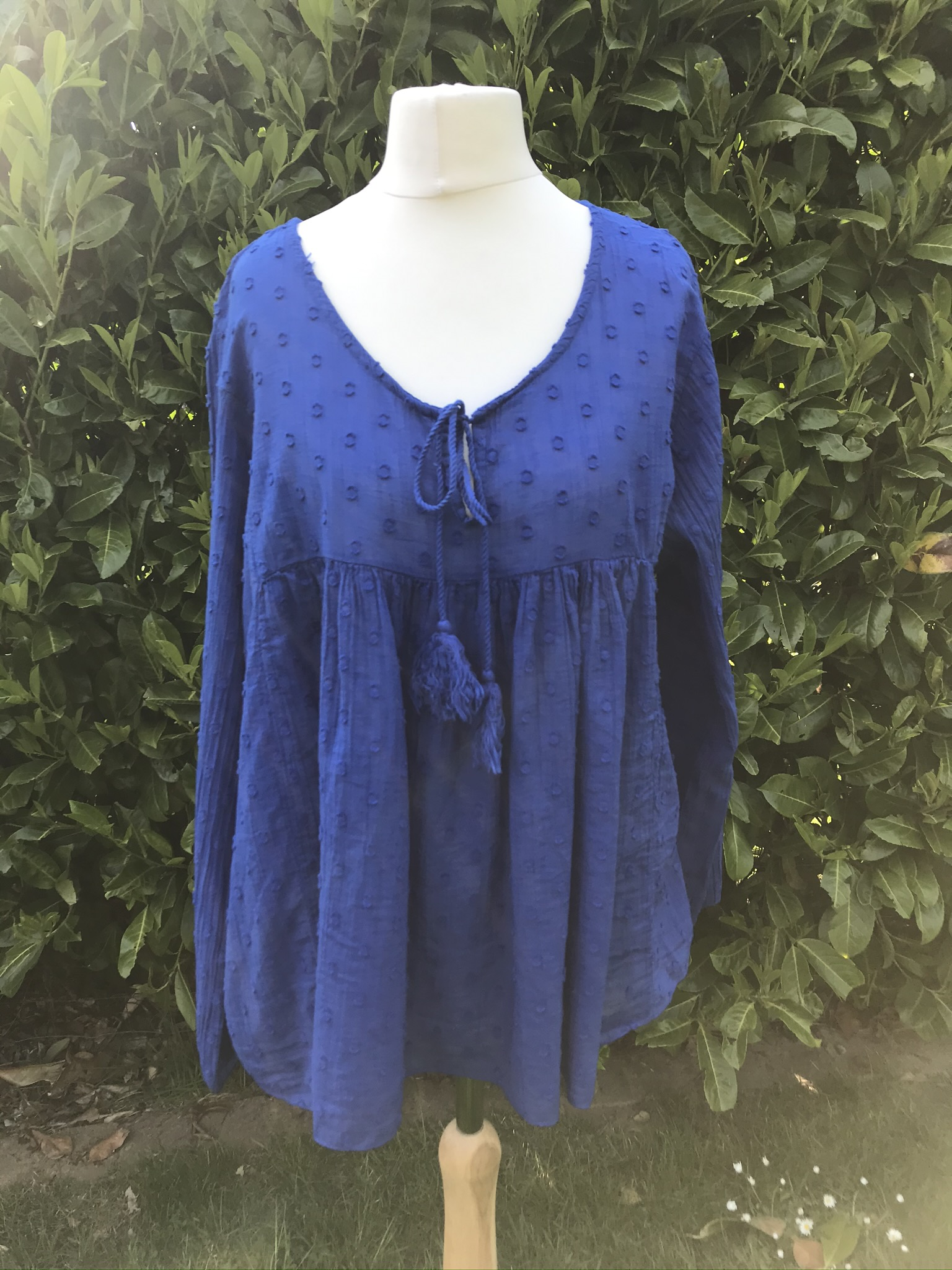 MSH Top with tassels