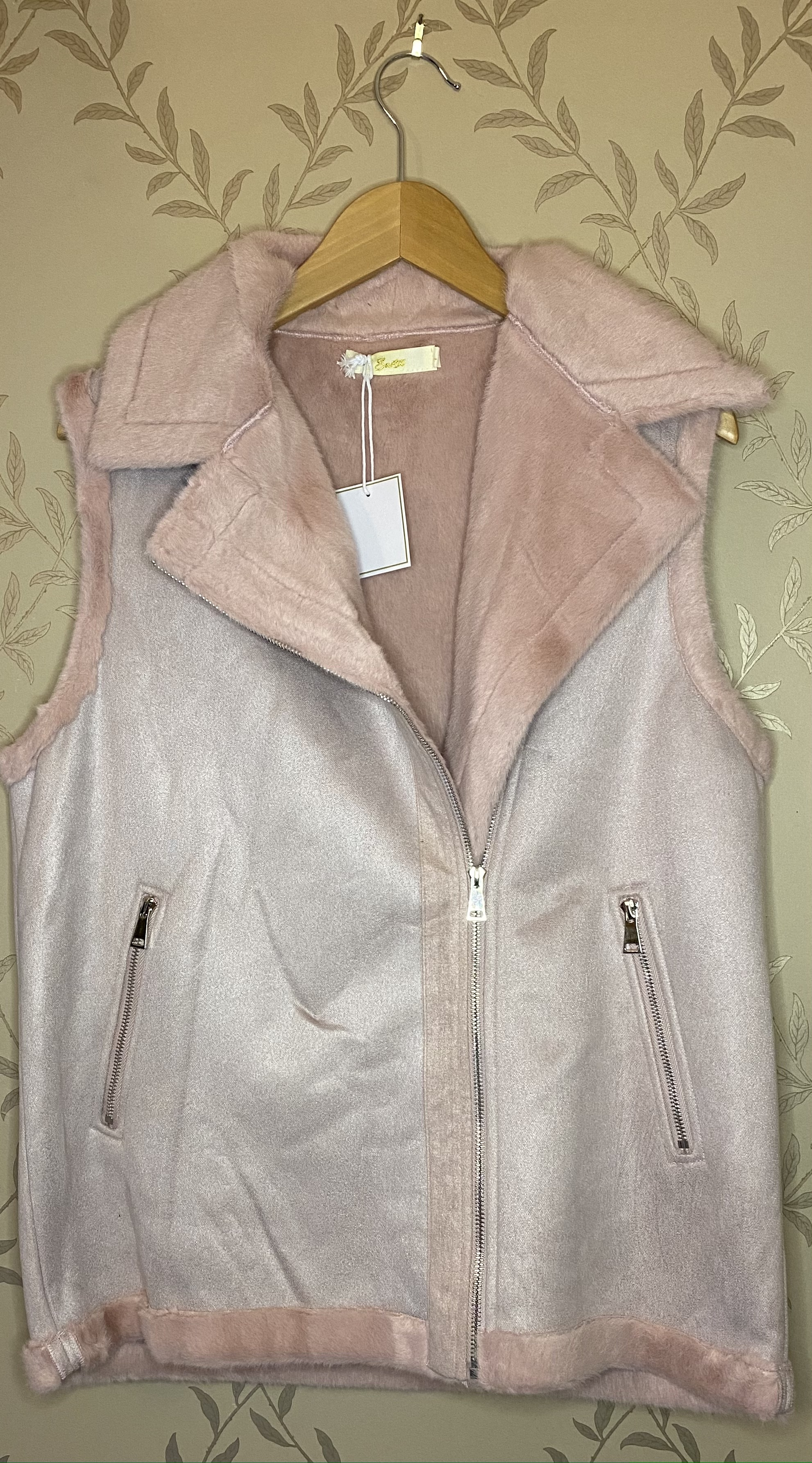 Gilet faux fur suede - Available in 2 Colours
