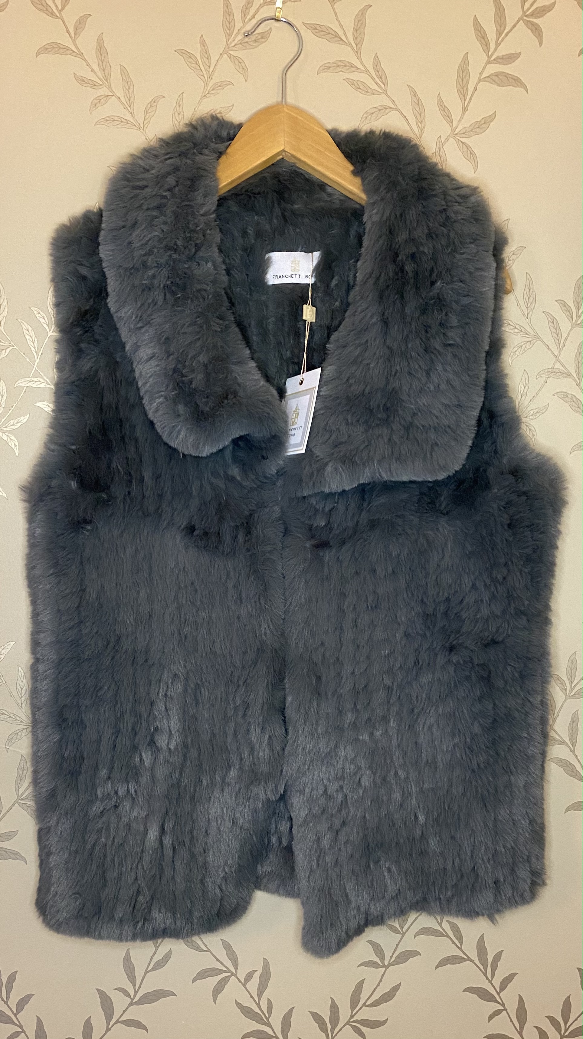 Franchetti Bond faux fur gilets - Available in 4 Designs