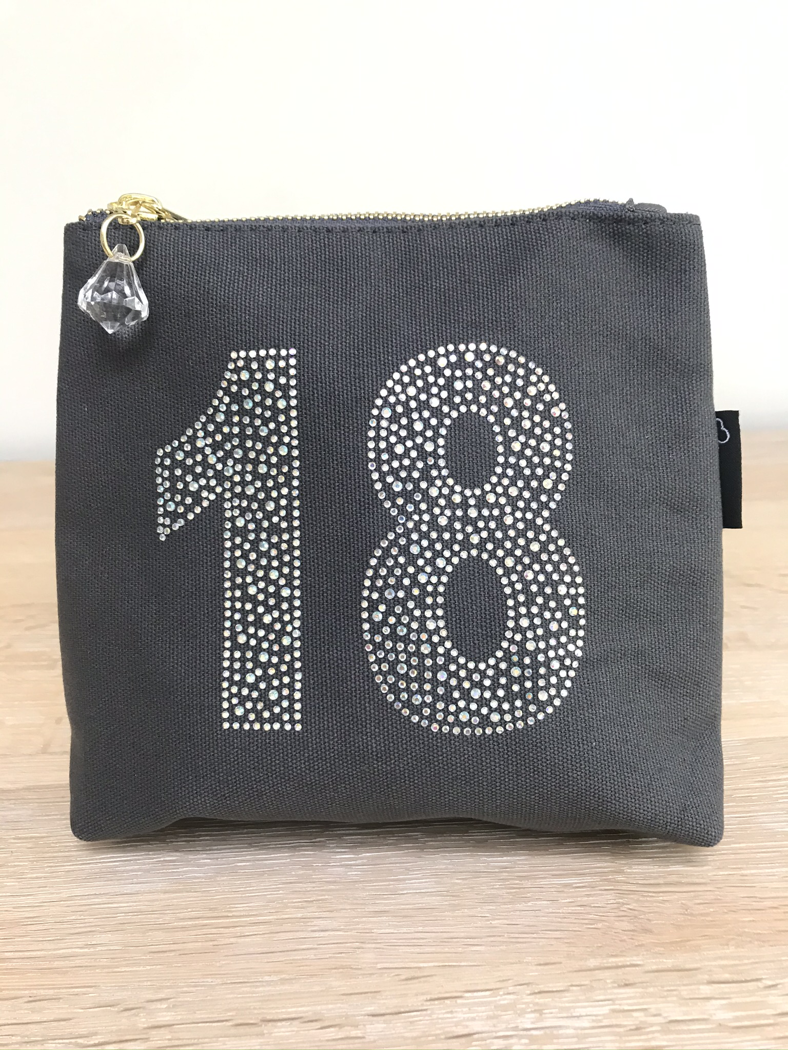 Make up bags Sparkly Ages - 7 Designs Available