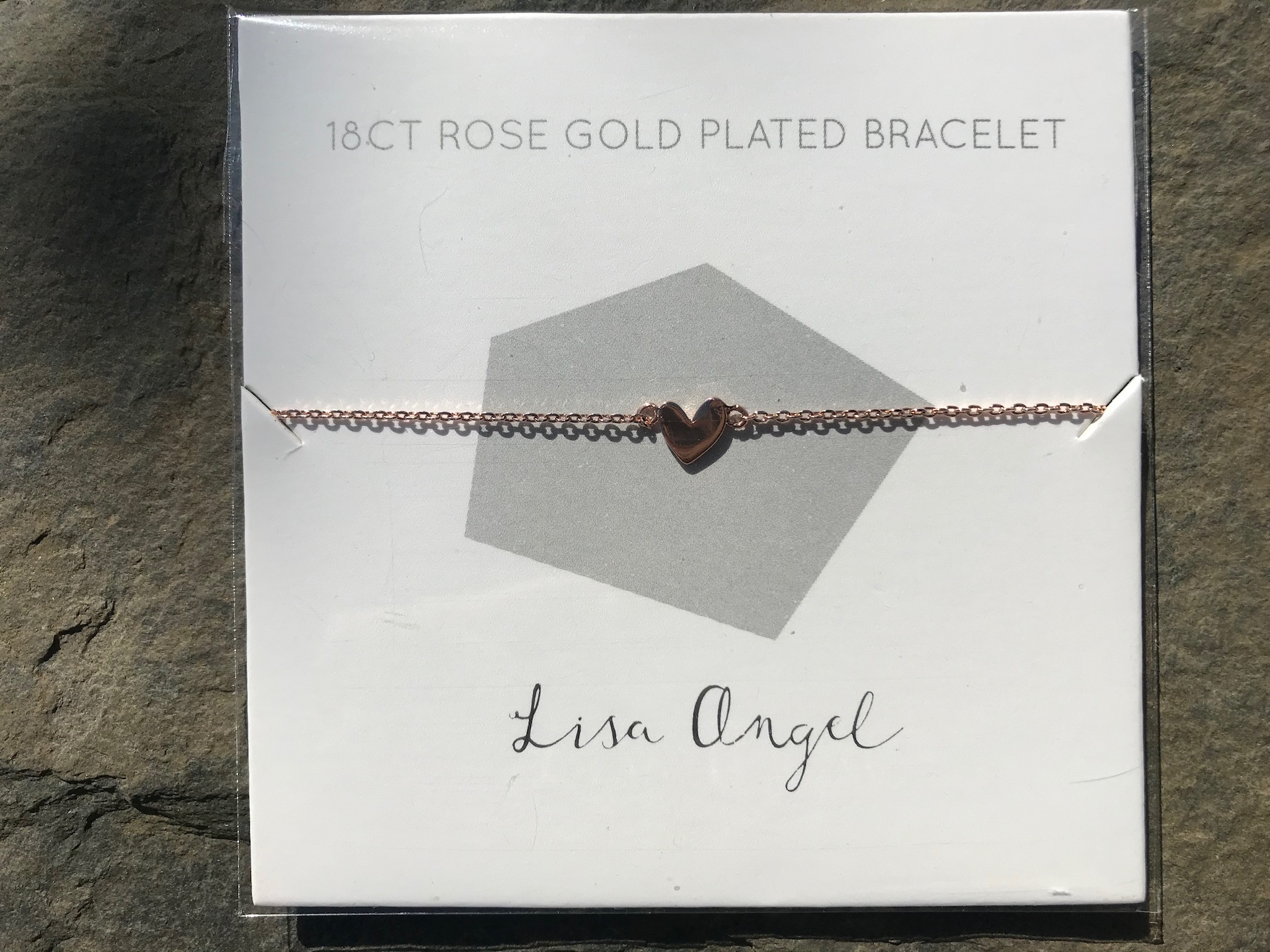 Lisa Angel heart bracelets gold or silver