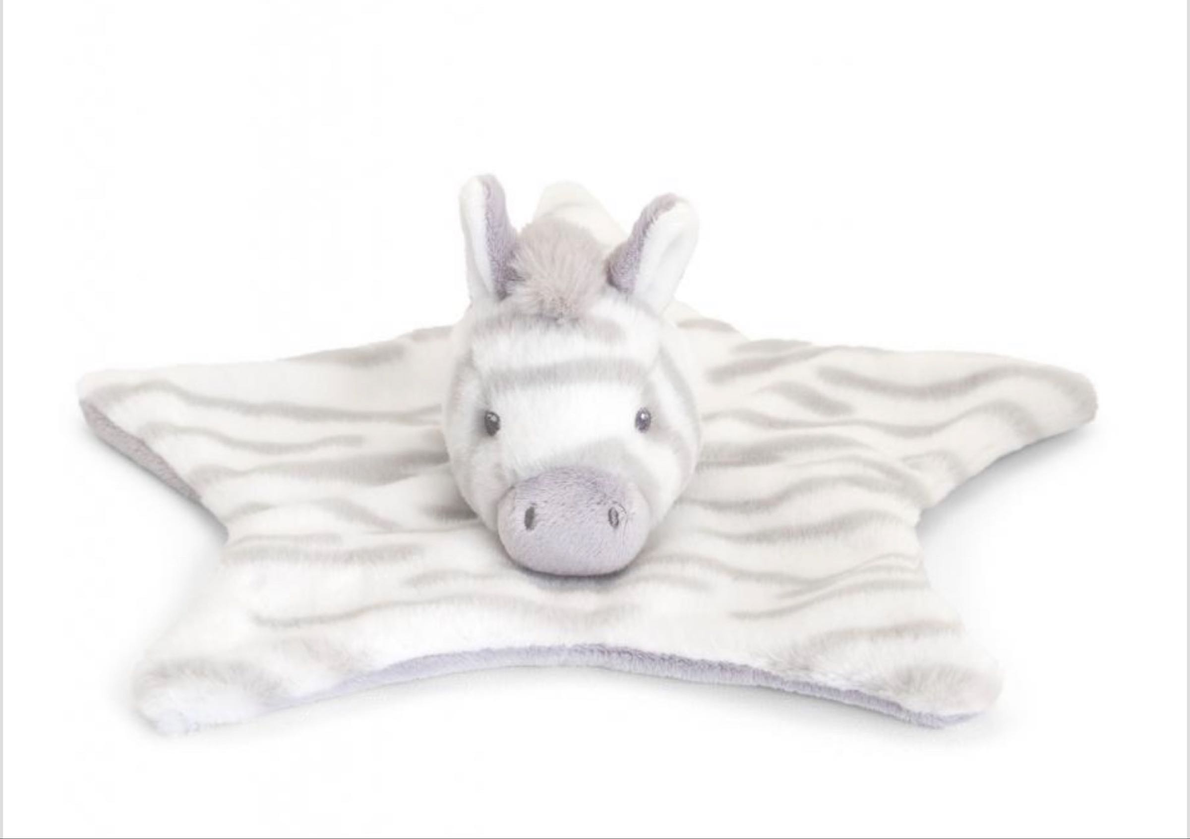 32cm  Eco Cuddle Zebra Comforter