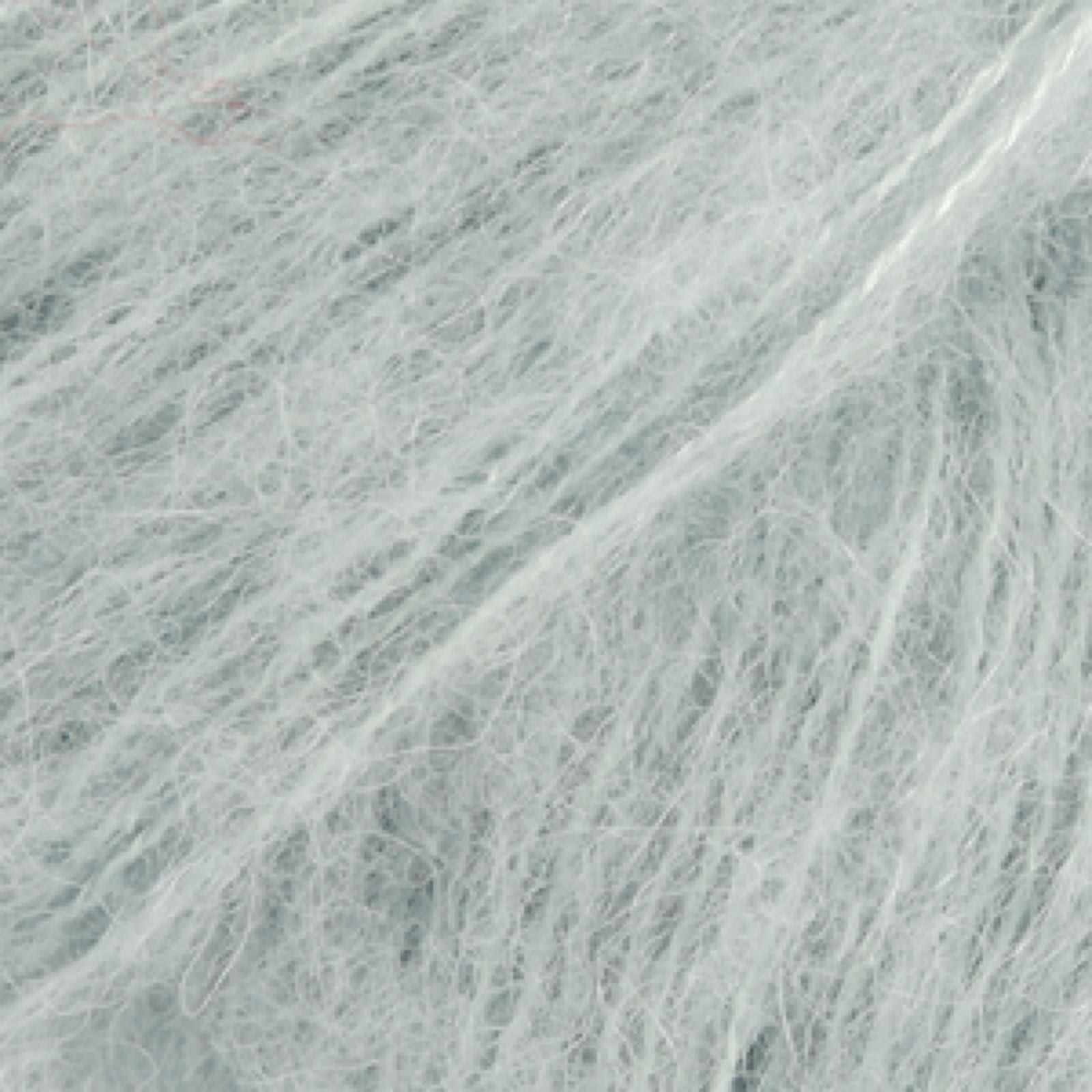 DROPS Brushed Alpaca Silk, uni colour 14 lys grågrønn