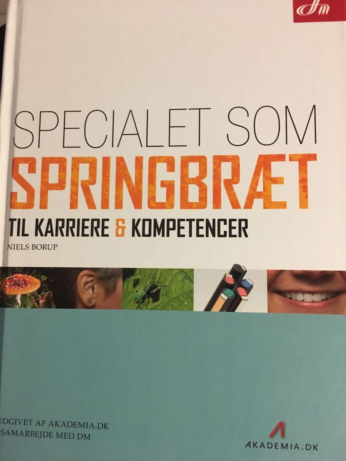 Specialet som springbræt til karriere & kompetencer af Niels Borup
