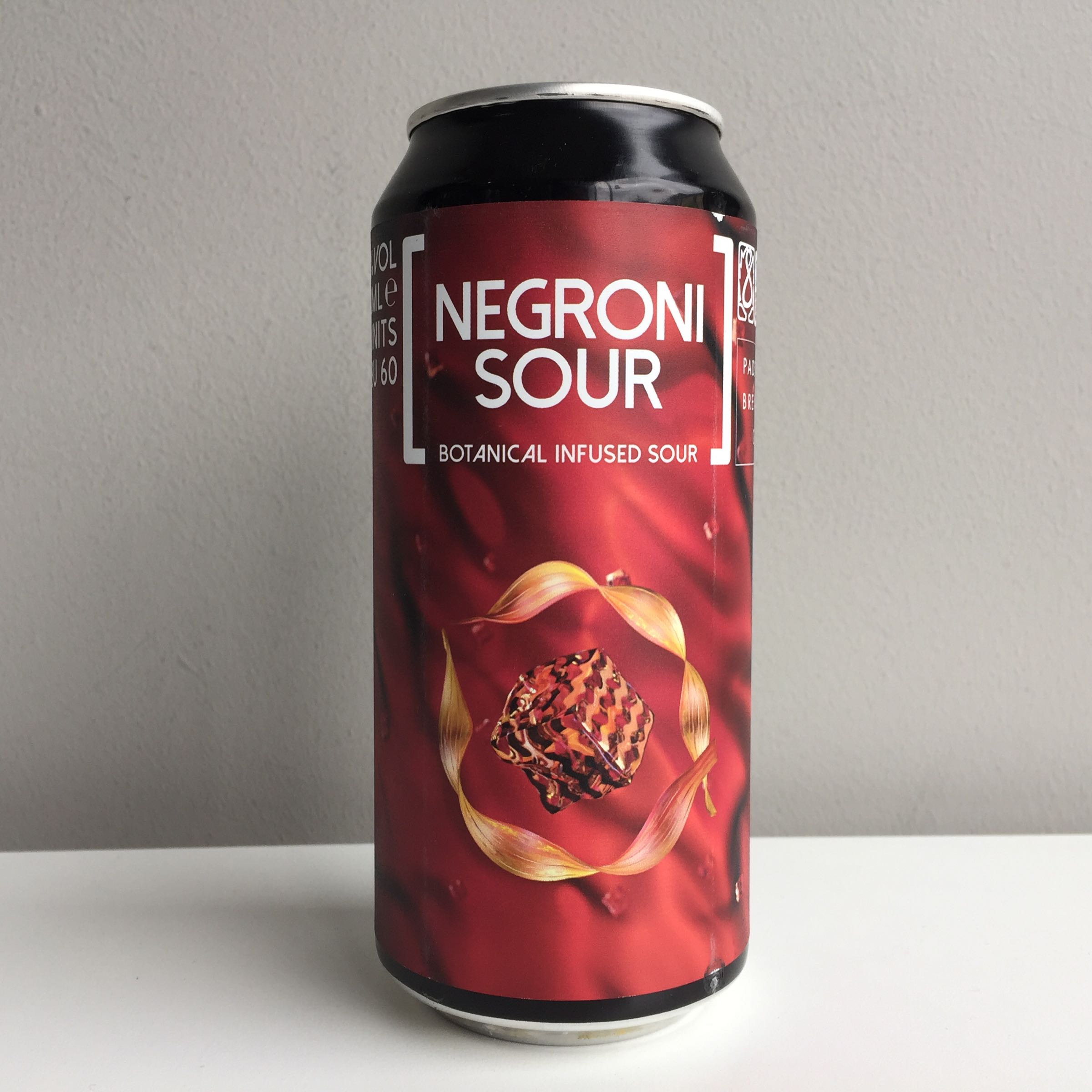 Padstow Brewing Co. 'Negroni Sour' Botanical Infused Sour 440ml