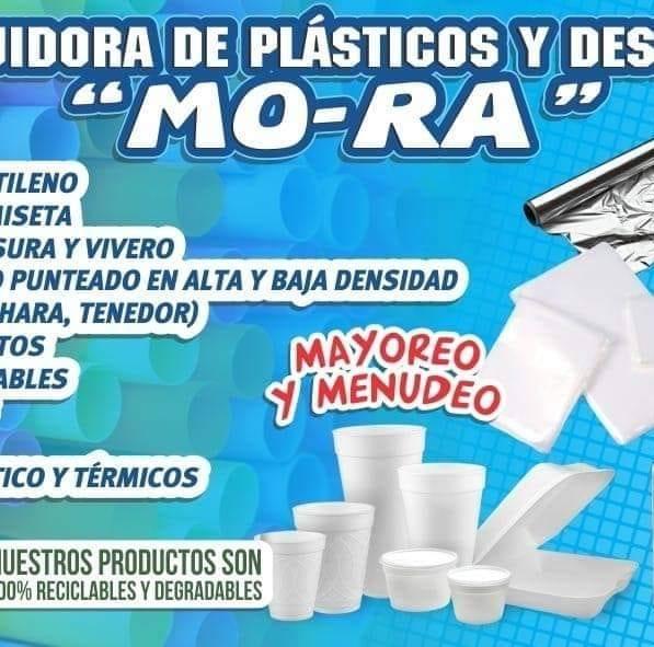 """COMERCIALIZADORA DE PLASTICOS Y DESECHABLES """"MO-RA"""""""