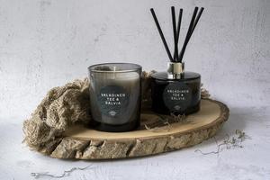 Ylellinen huonetuoksu Valkoinen Tee & Salvia