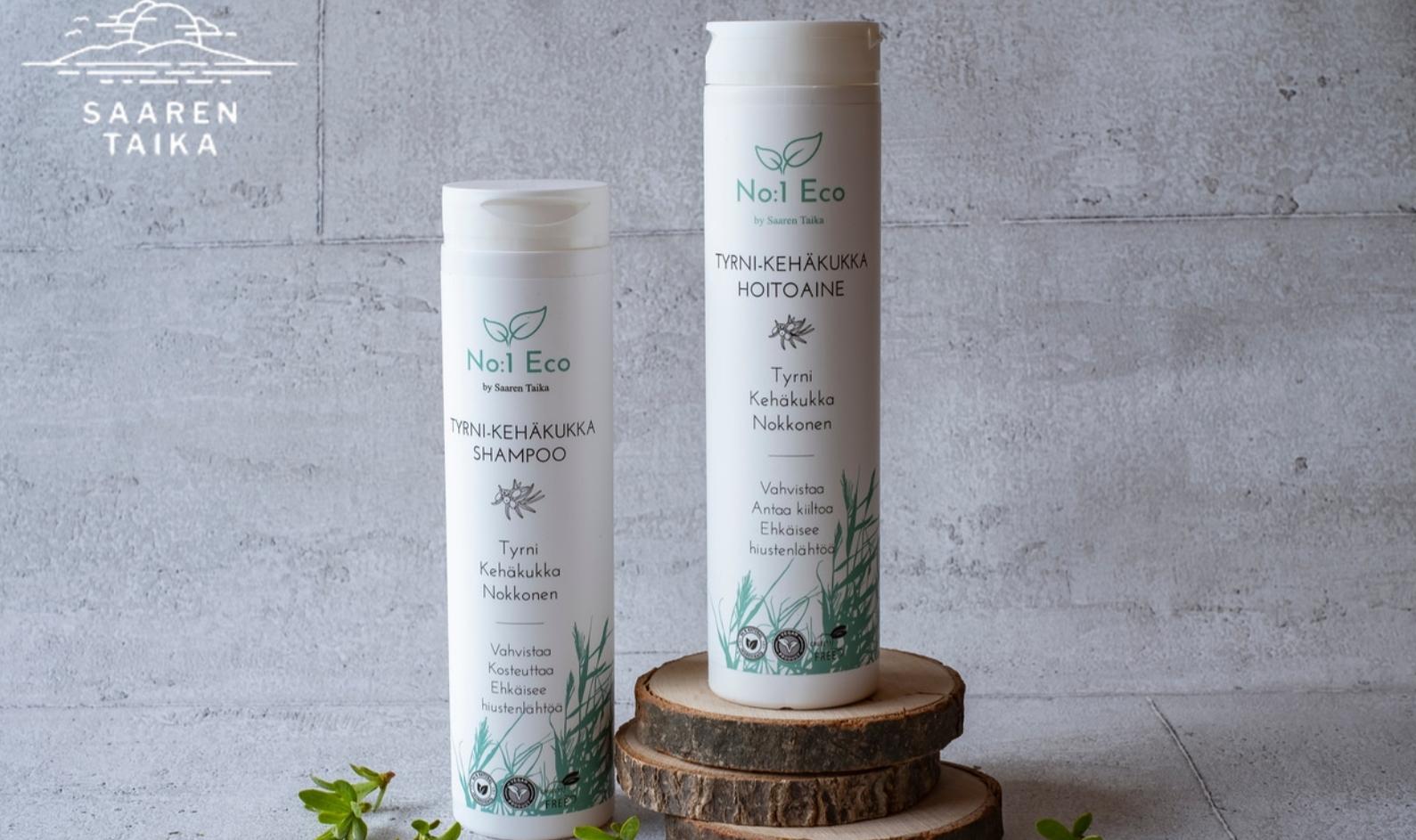 NO:1 Eco® Tyrni-kehäkukka Shampoo