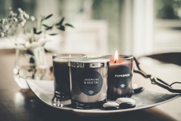 Jasmiini - Seetri tuoksukynttilä