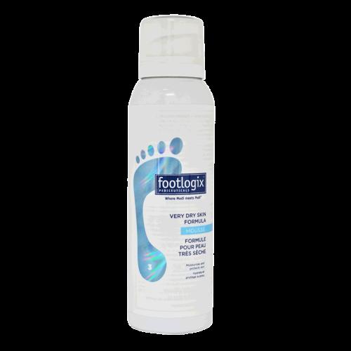 Footlogix 3 Vaahtovoide erittäin kuivalle iholle