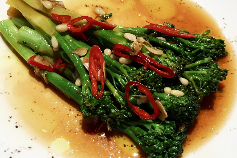 Tenderstem broccoli salad (vg)(gf)