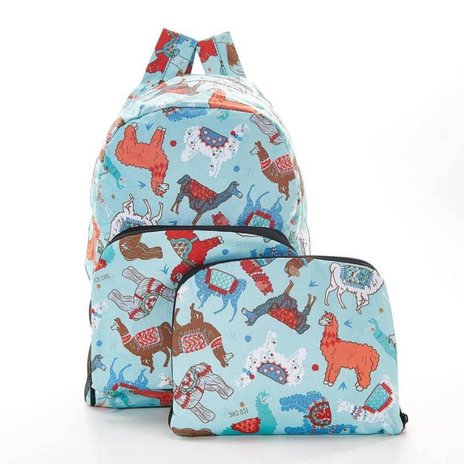 'Alpacas & Llamas' Foldable Backpack