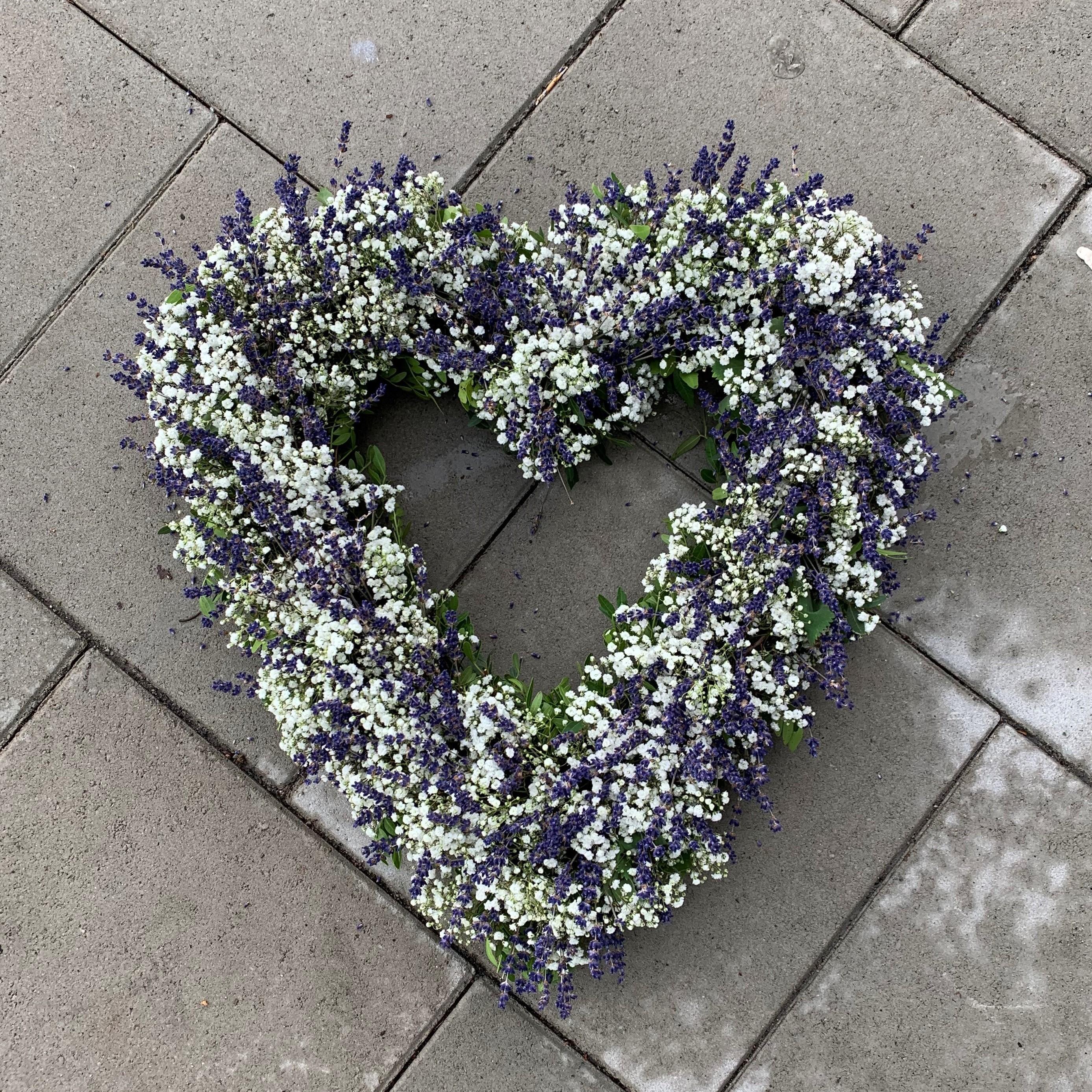 Oasishjärta - Öppet - Lavendel