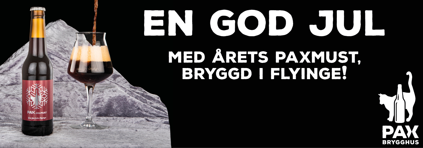Julmust - Pax Brygghus