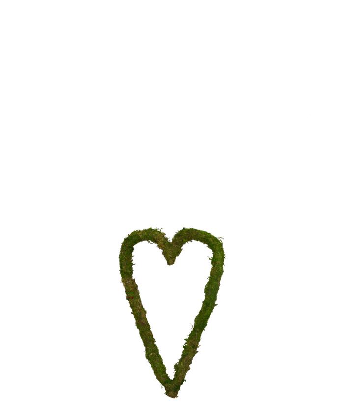 Ihåligt hjärta - Grönmossa