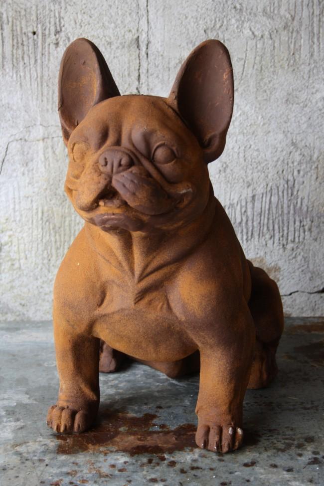 Fransk bulldogg - staty