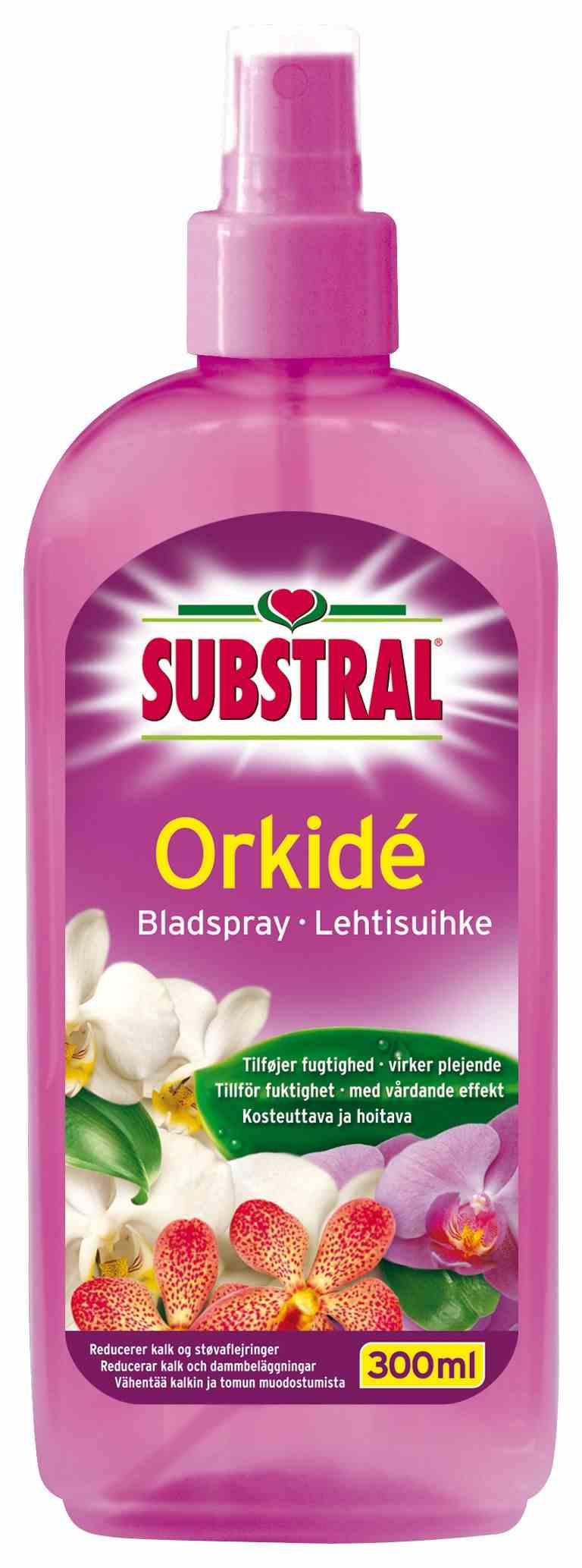 Orkidé bladsprey - Substral