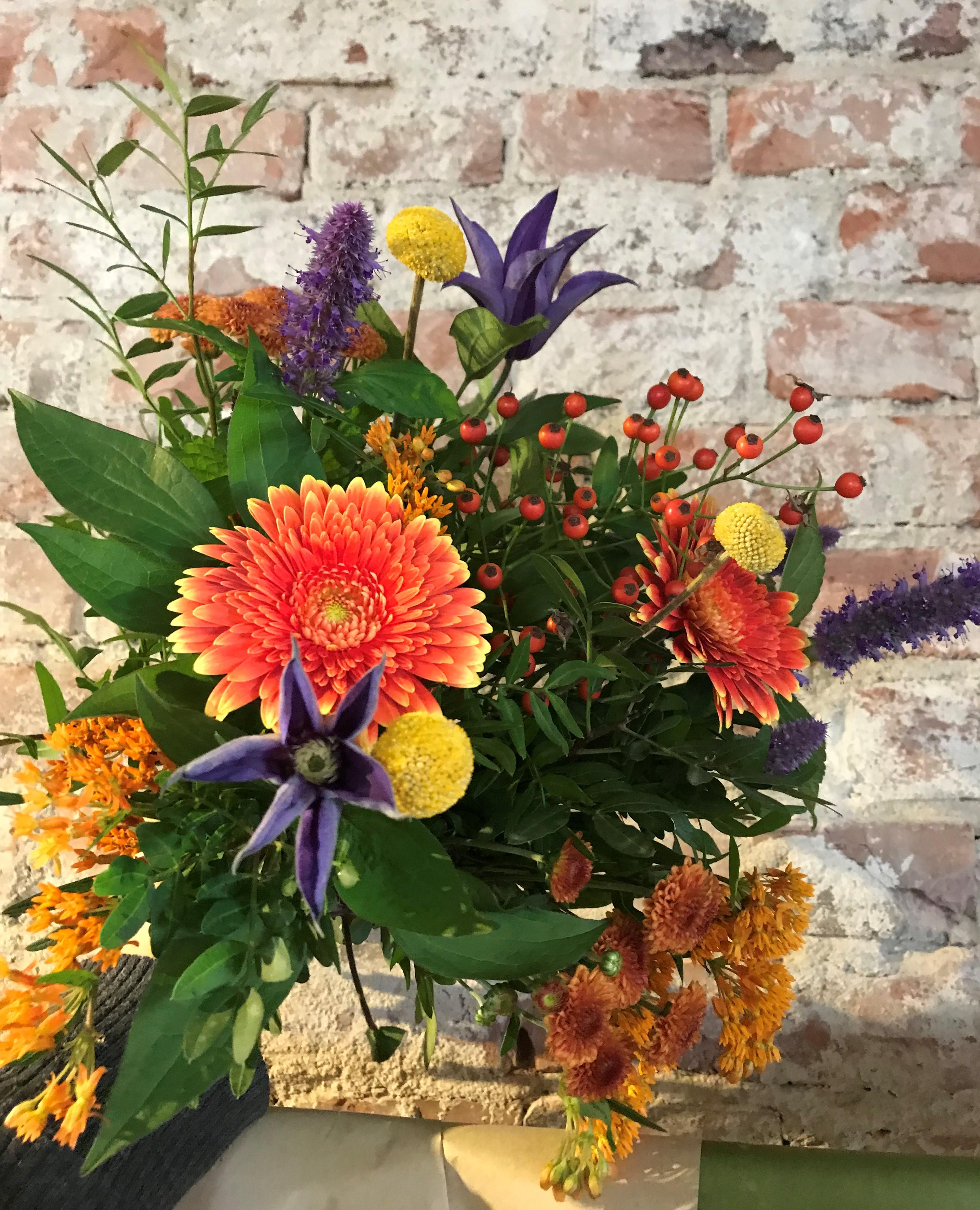 Floristens val - Mix färg