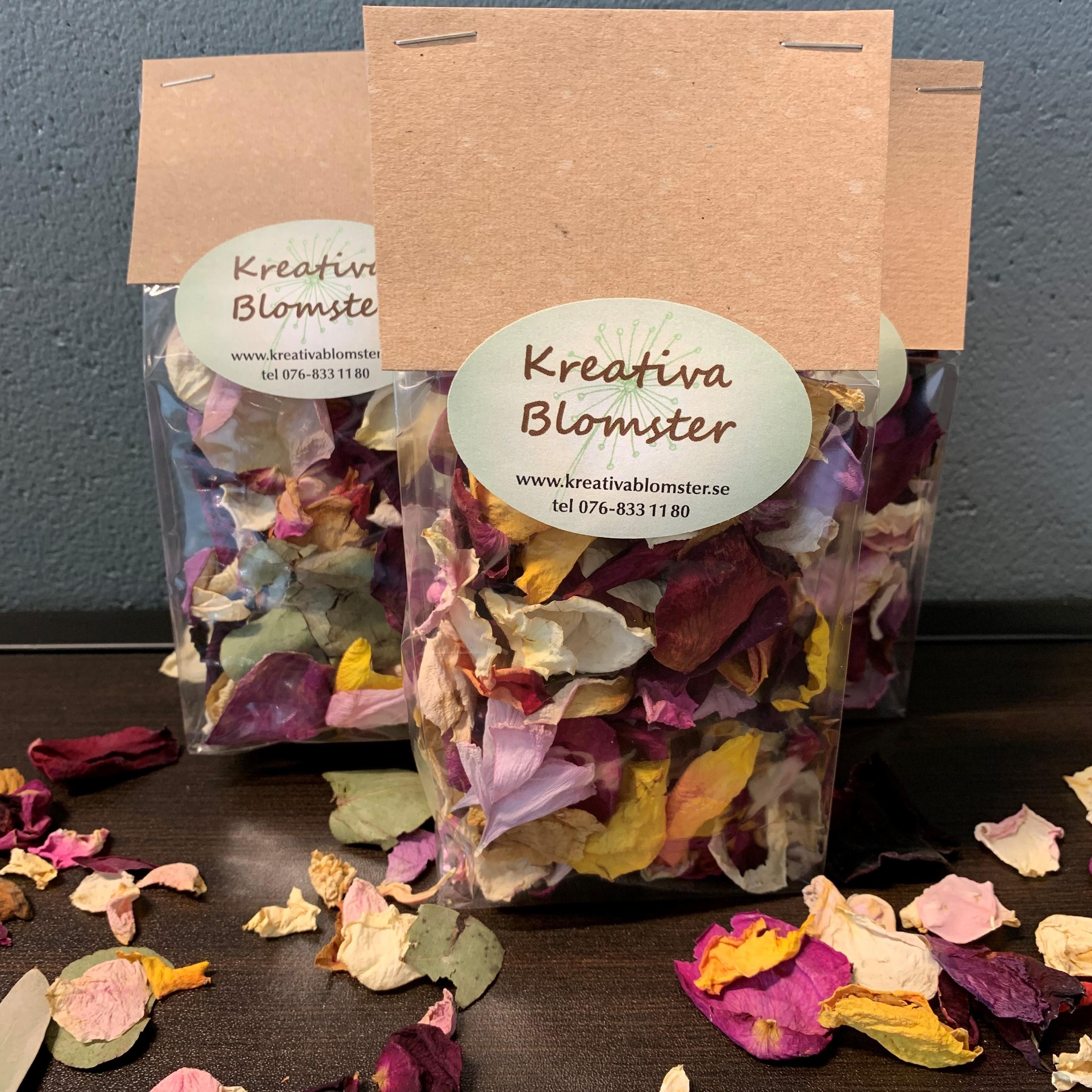 Blomsterkonfetti