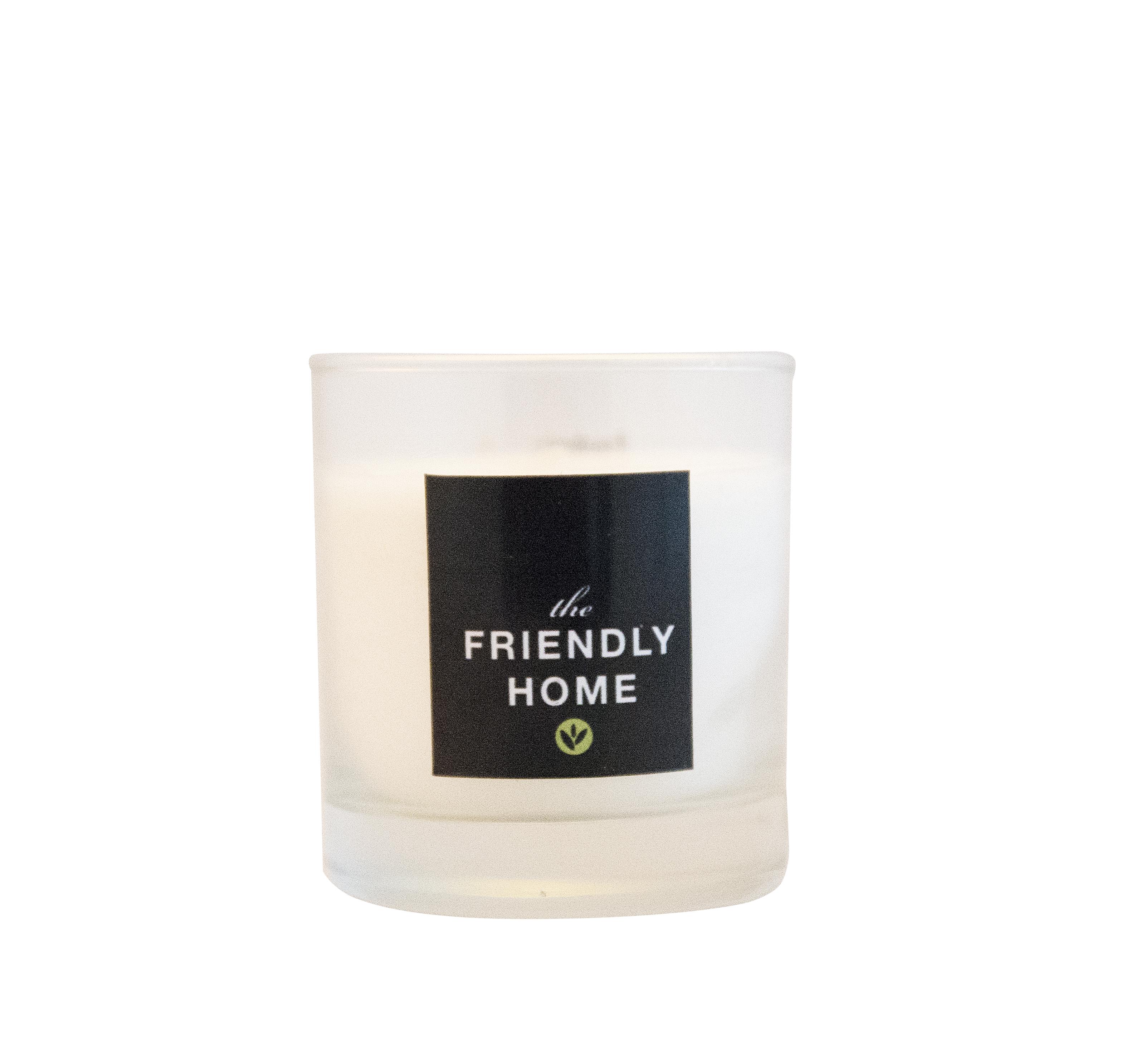 The Friendly Home - Doftfritt ljus i glas