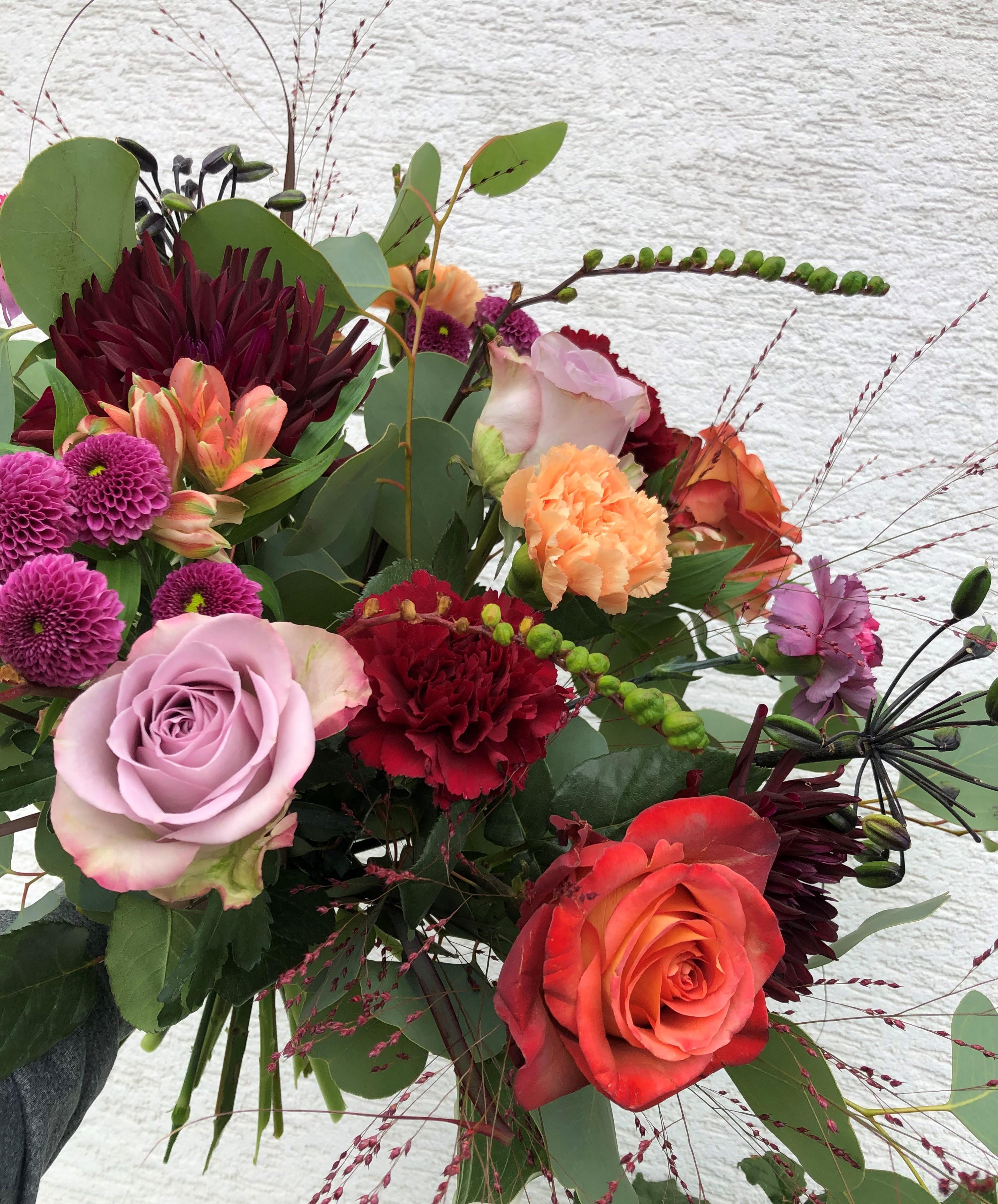 Floristens val - Färgglad
