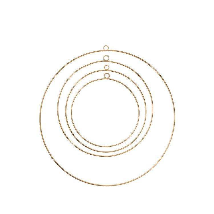 Dekorationsring - Guld