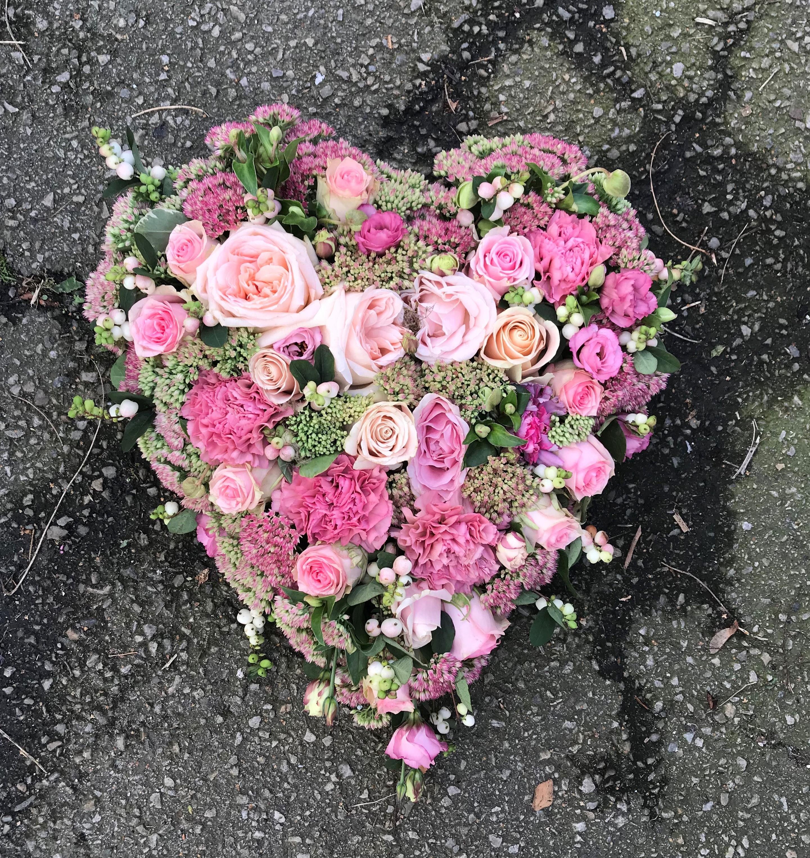 Floristens val - Oasishjärta - 40cm