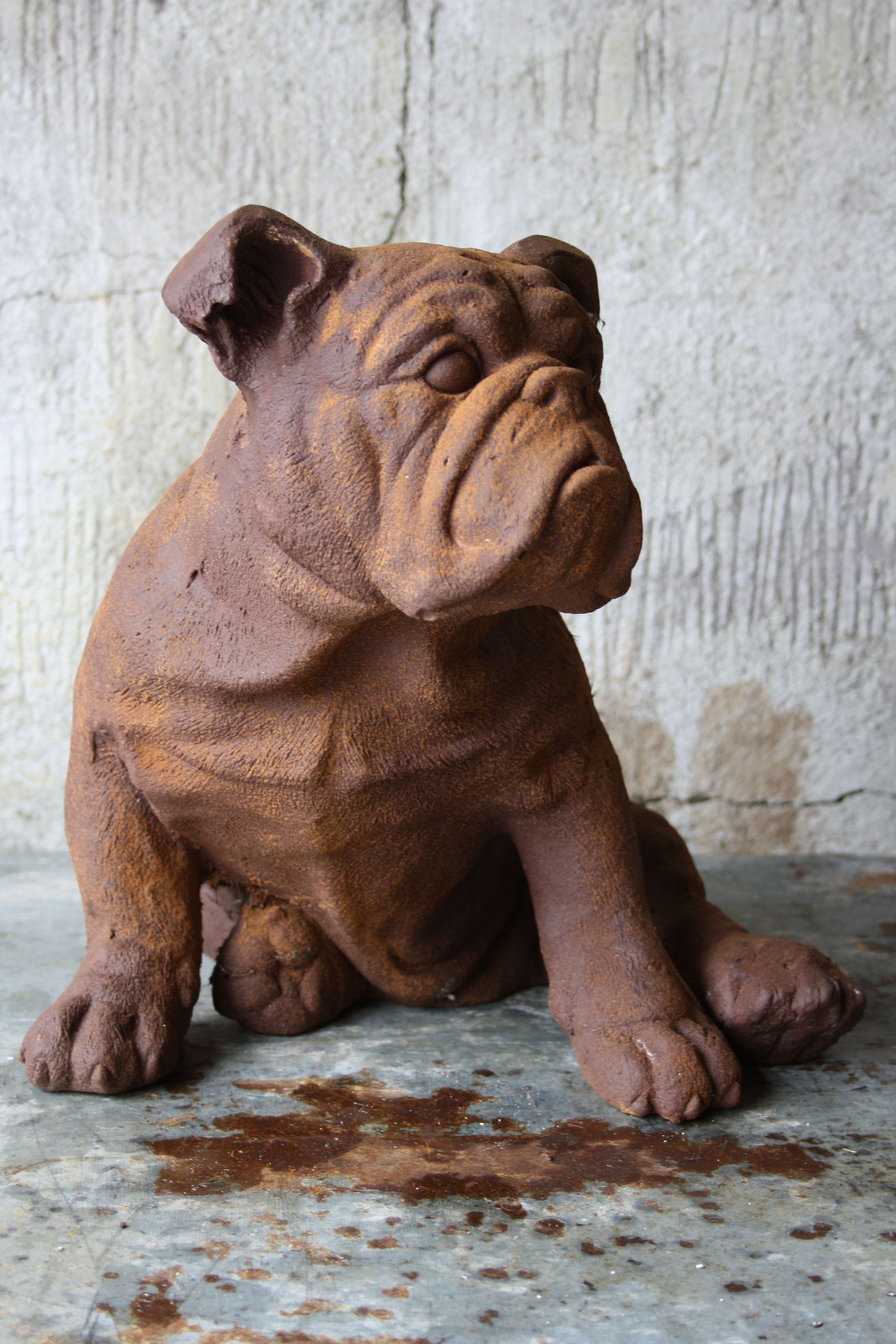Engelsk bulldogg - Staty
