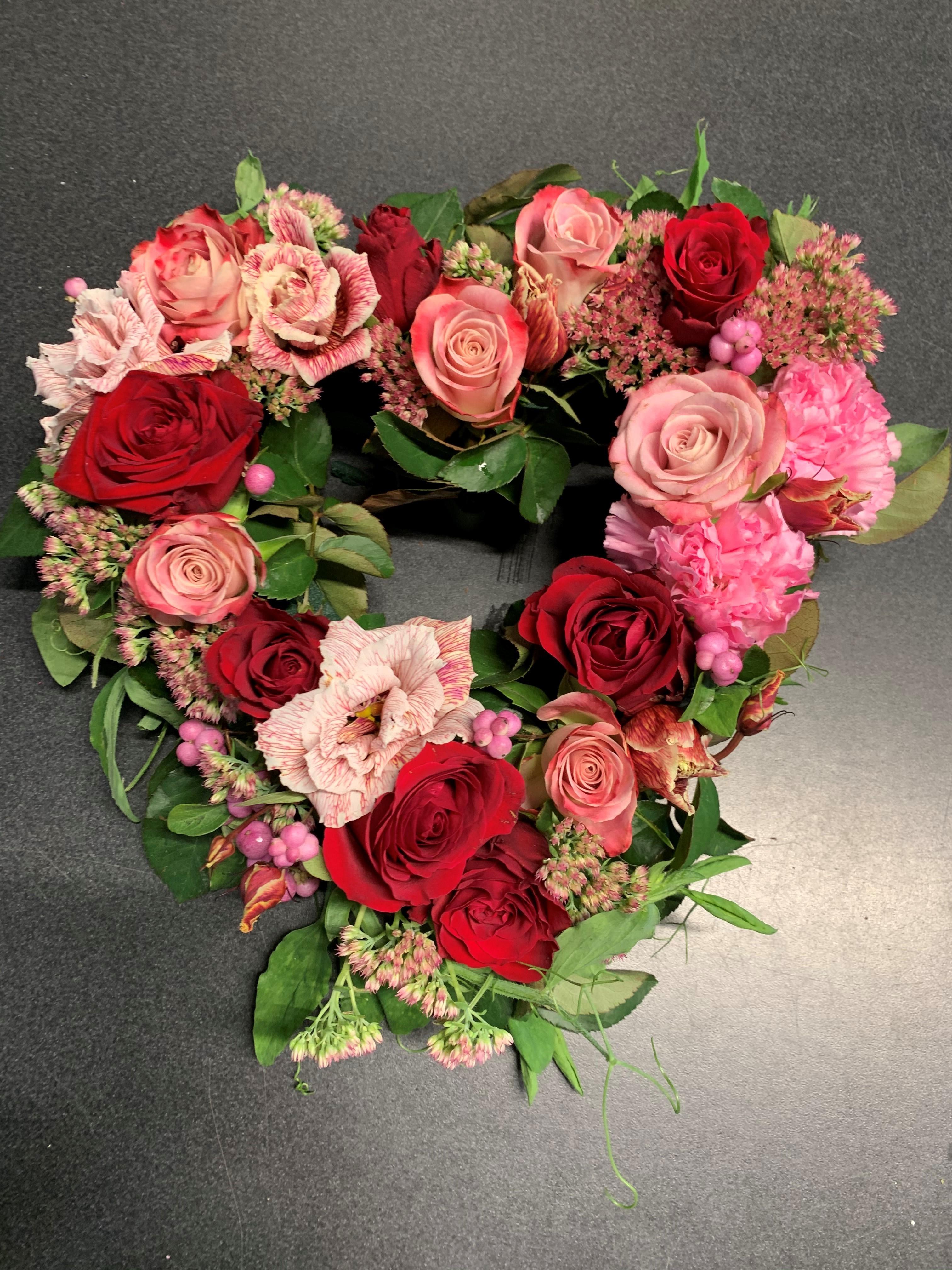 Oasishjärta - Röd/Rosa