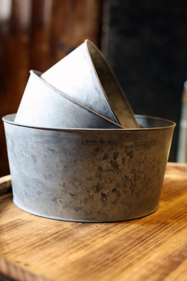 Metallskål - Zink