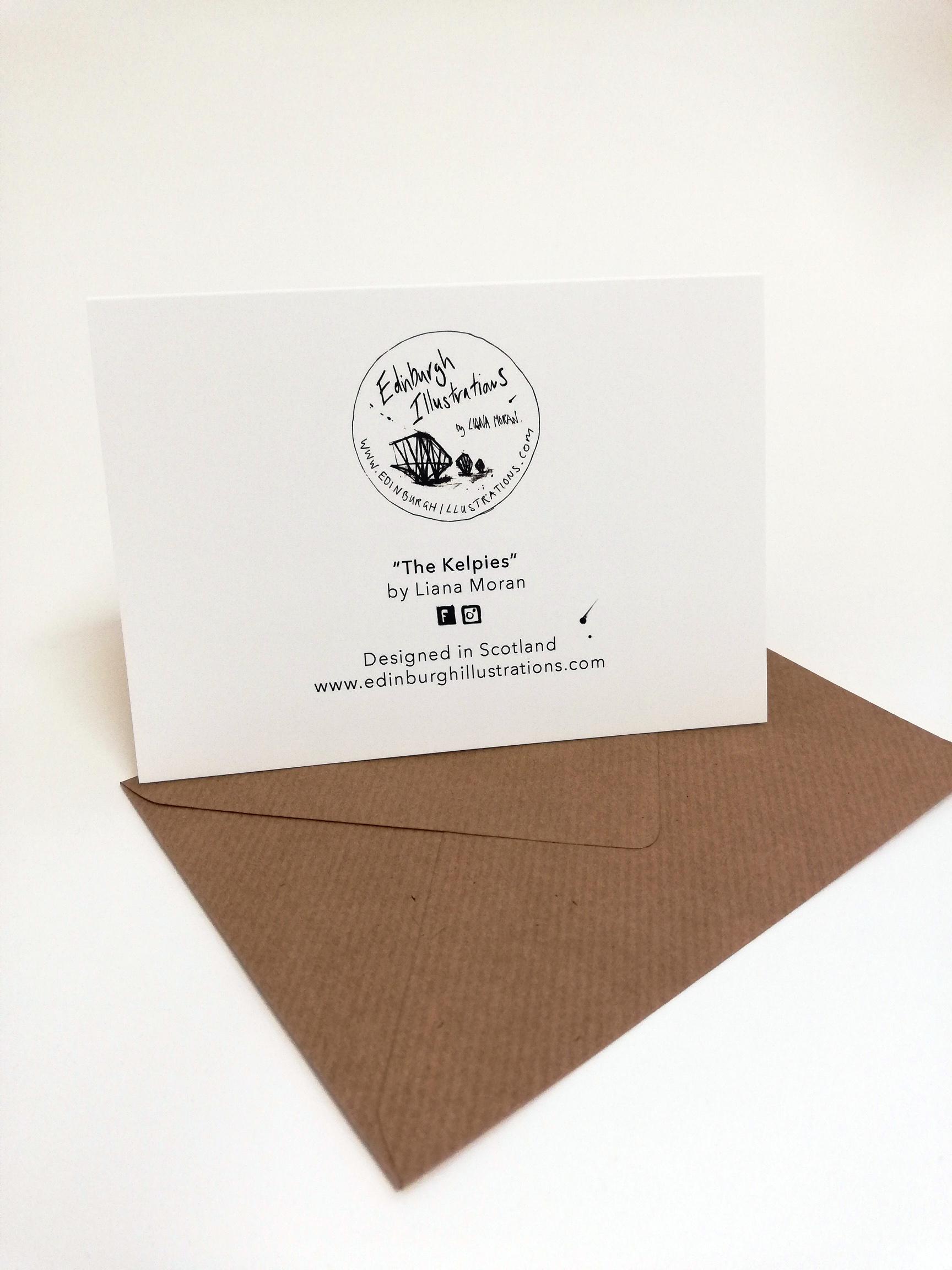 The Kelpies Christmas Card
