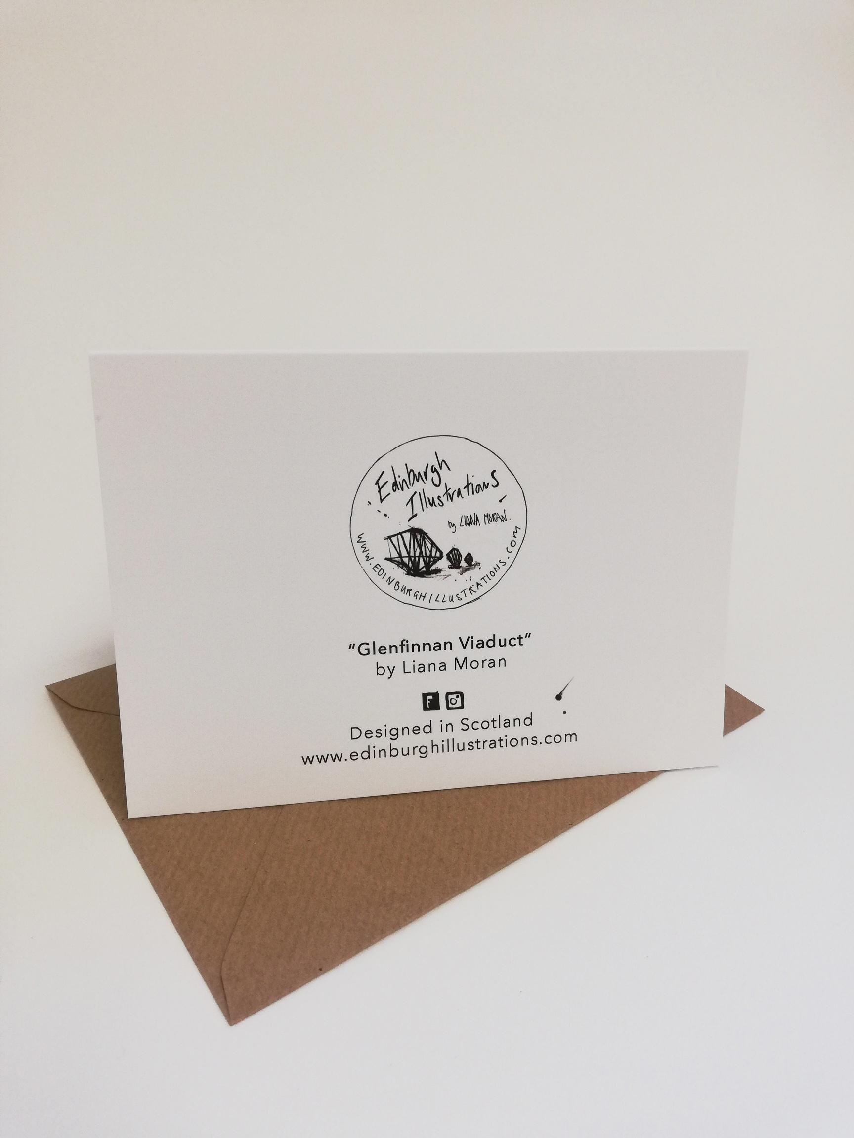 Glenfinnan Viaduct card