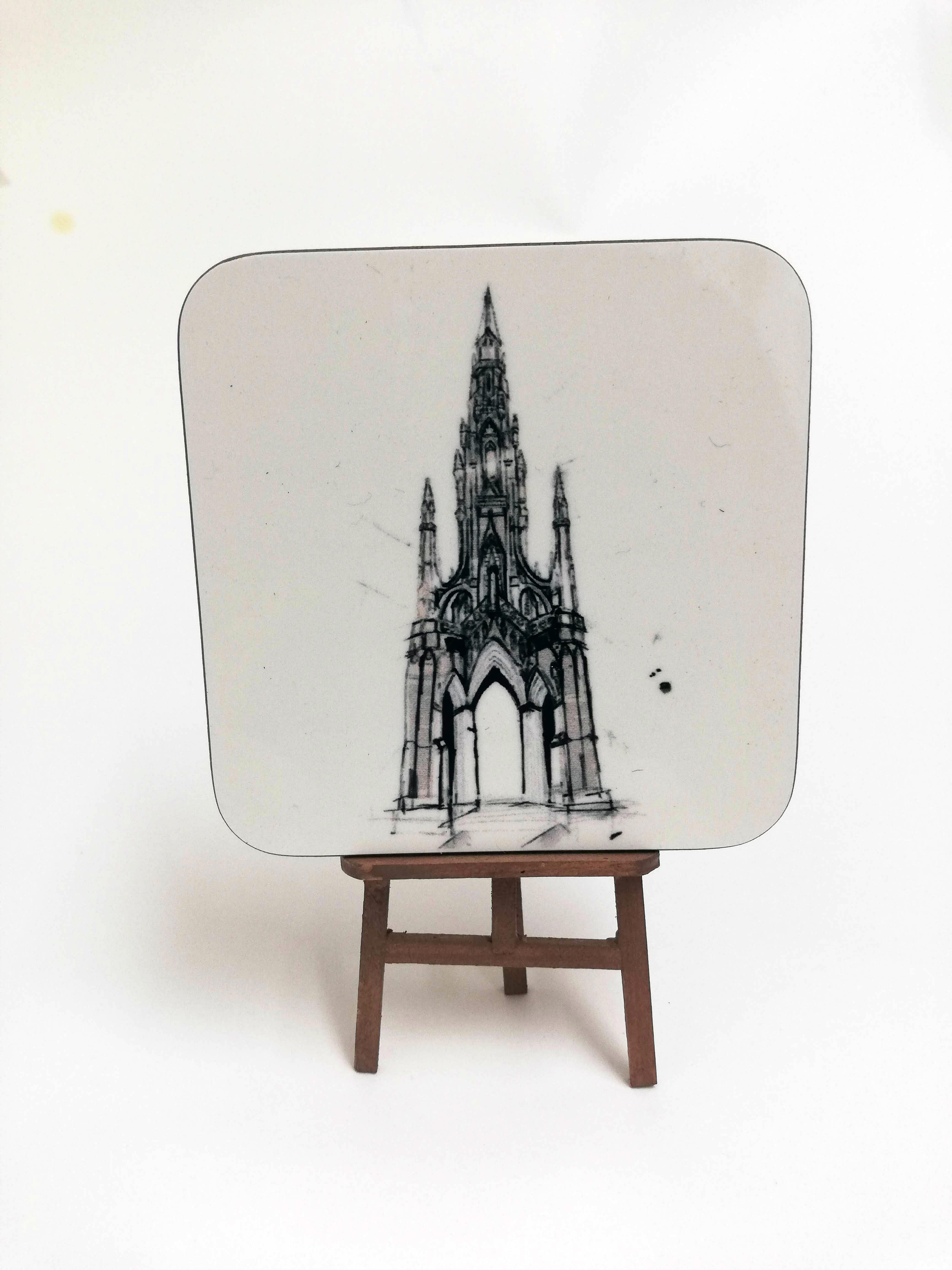 Scott Monument Coaster