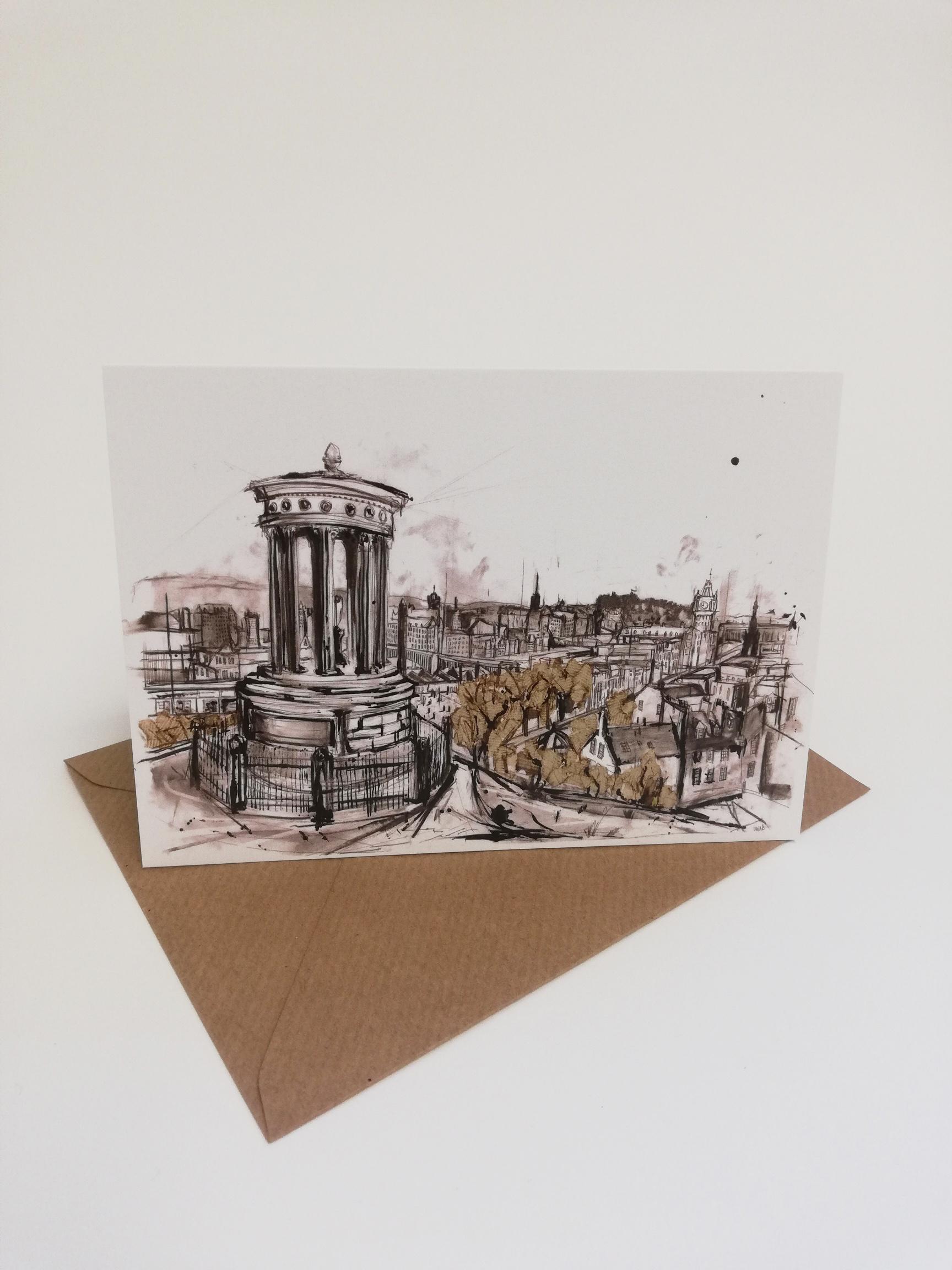 Calton Hill card