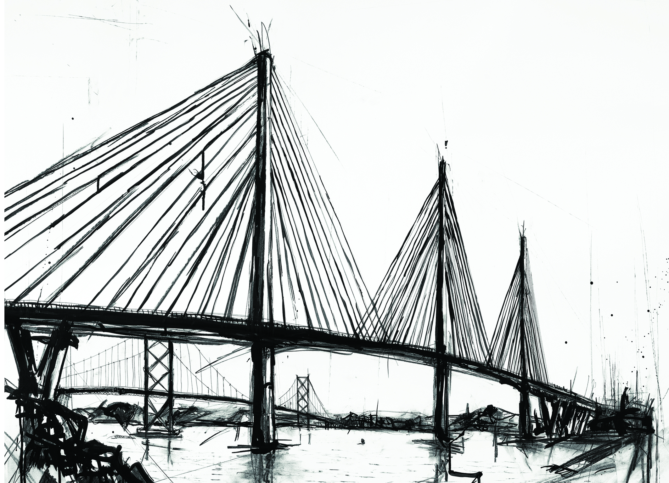 Queensferry Crossing print