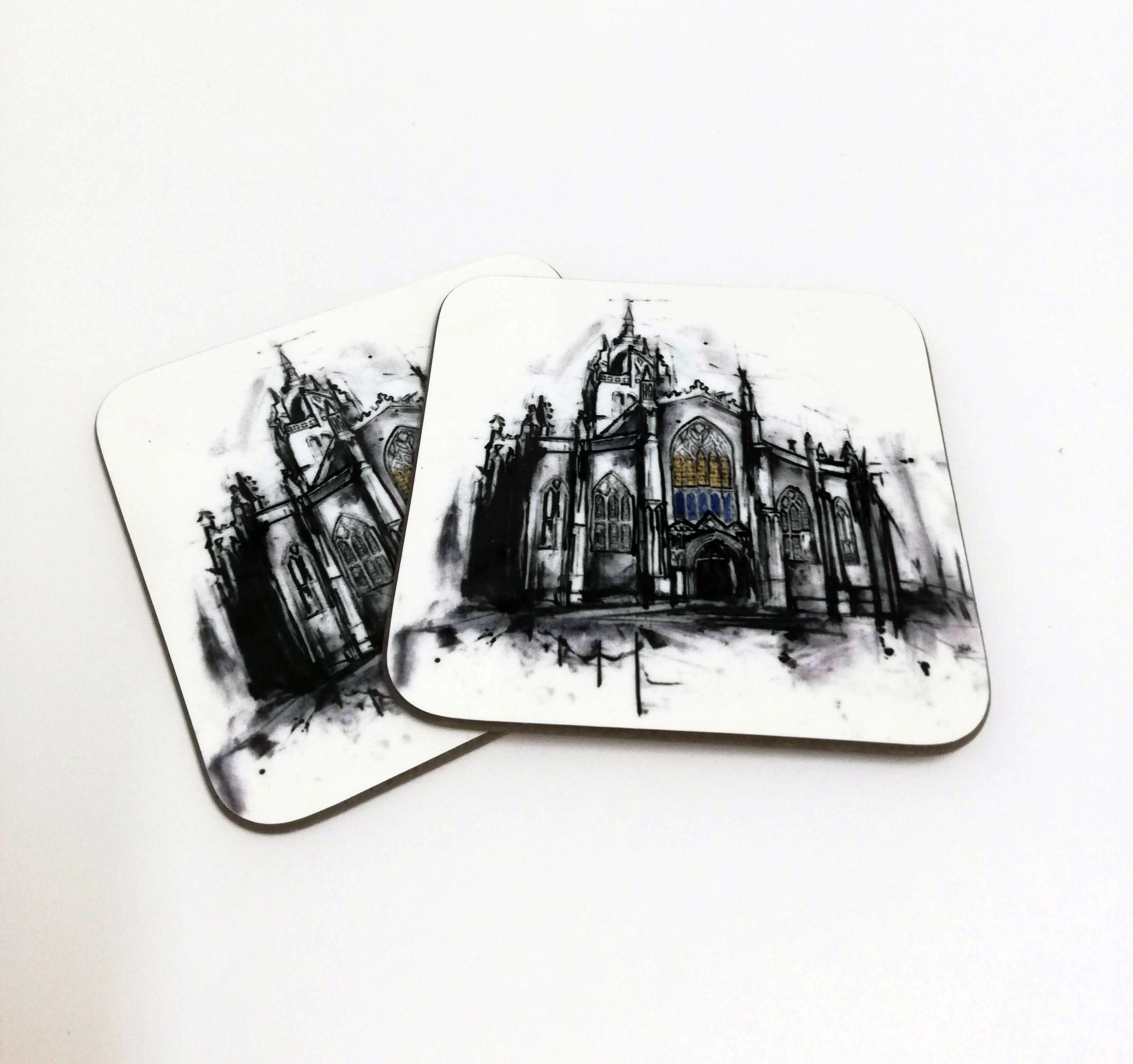 St Giles Cathedral Coaster